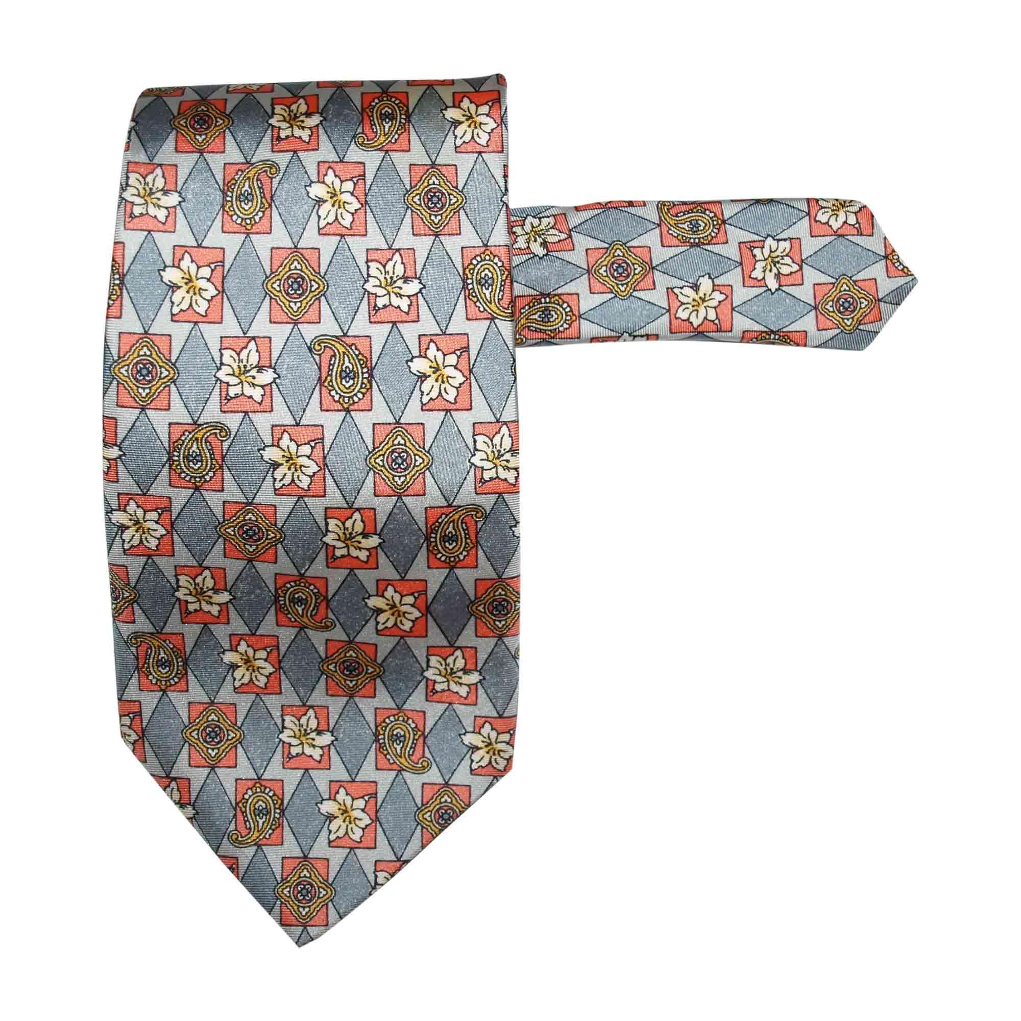 30a9731cb7f9f Cravate AZZARO gris vendu par Jo 13100 - 6054320
