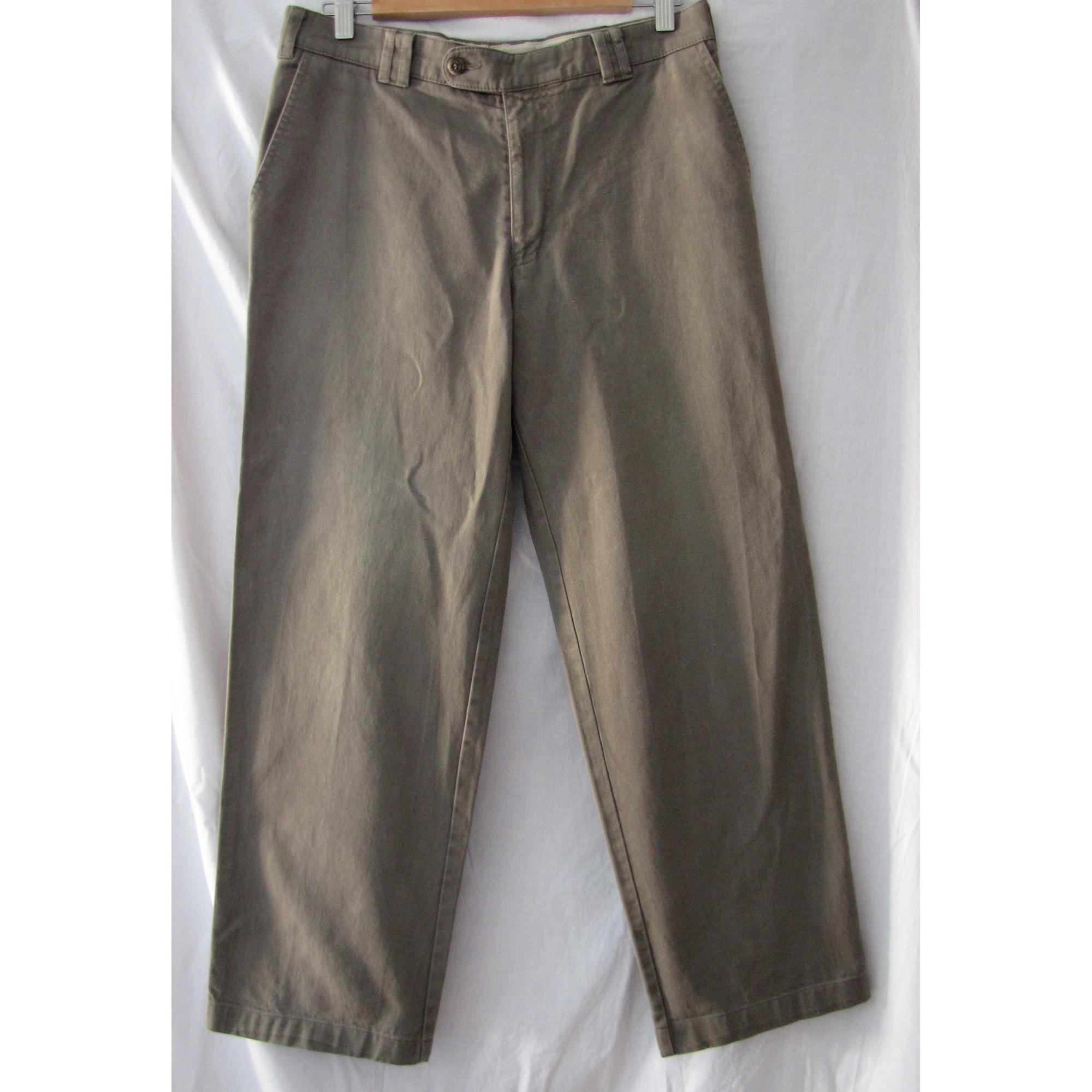 42lKaki Pantalon C Droit amp;a Canda 6064322 Lq345ARj