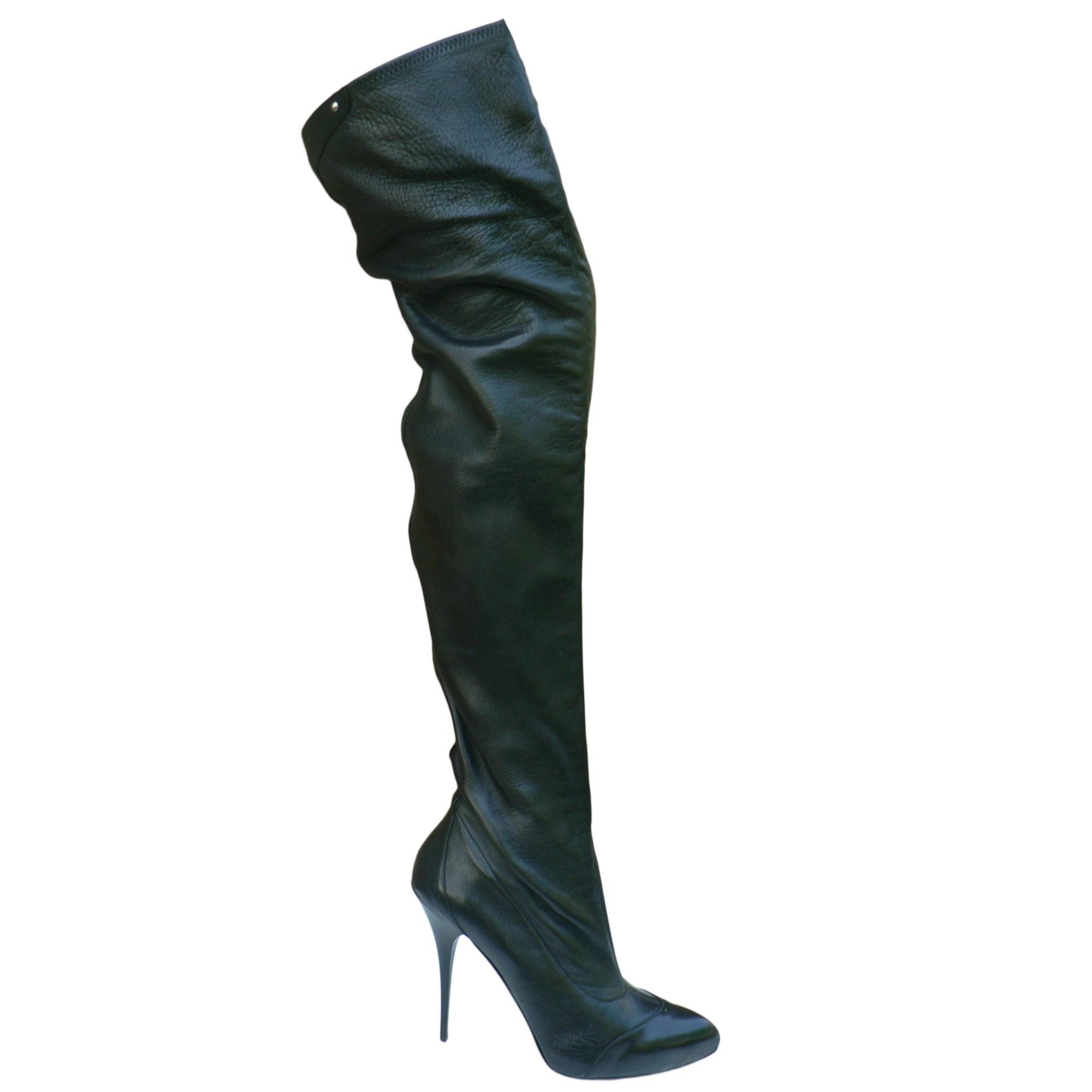 thigh high boots gianmarco lorenzi 39 black 6065137 rh videdressing co uk