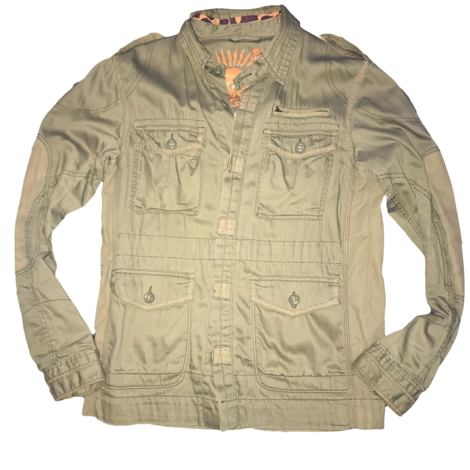 Jacket PEPE JEANS Green