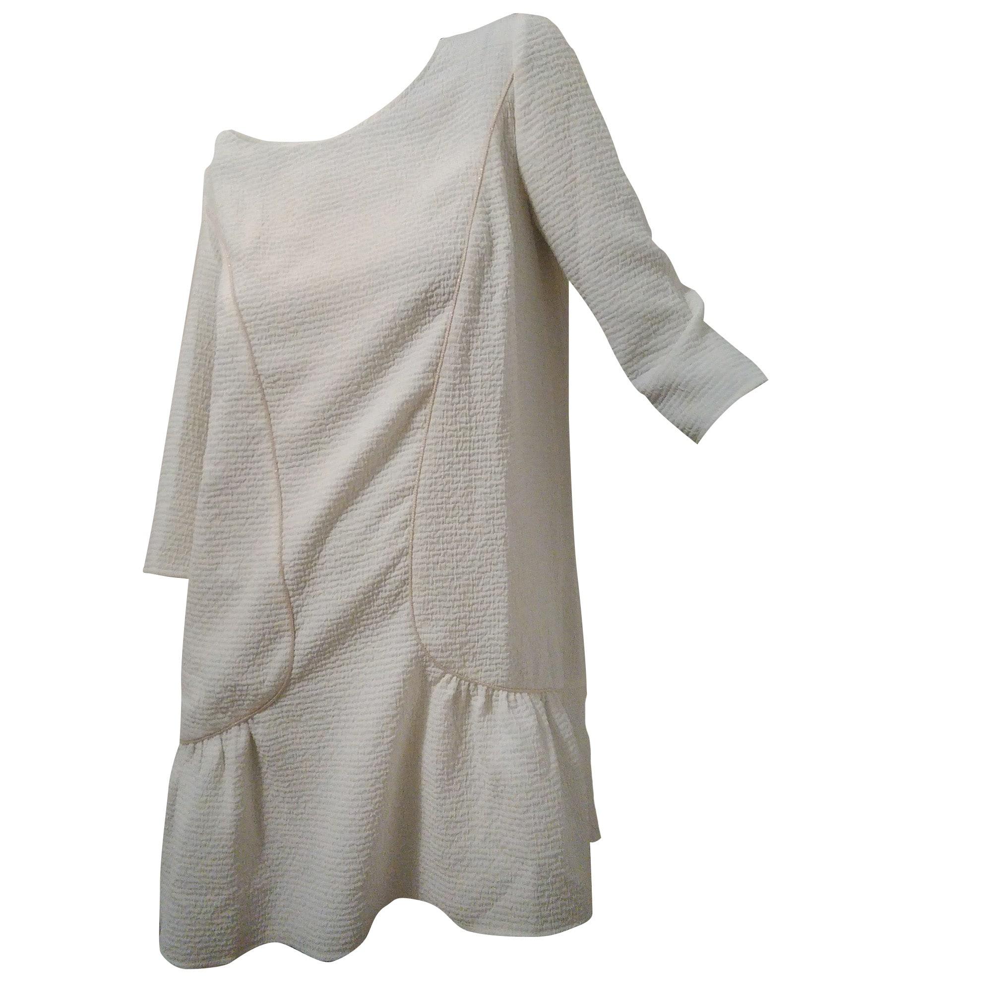 66e78f6e51 Robe courte BA&SH 36 (S, T1) blanc vendu par Jannael - 6084428
