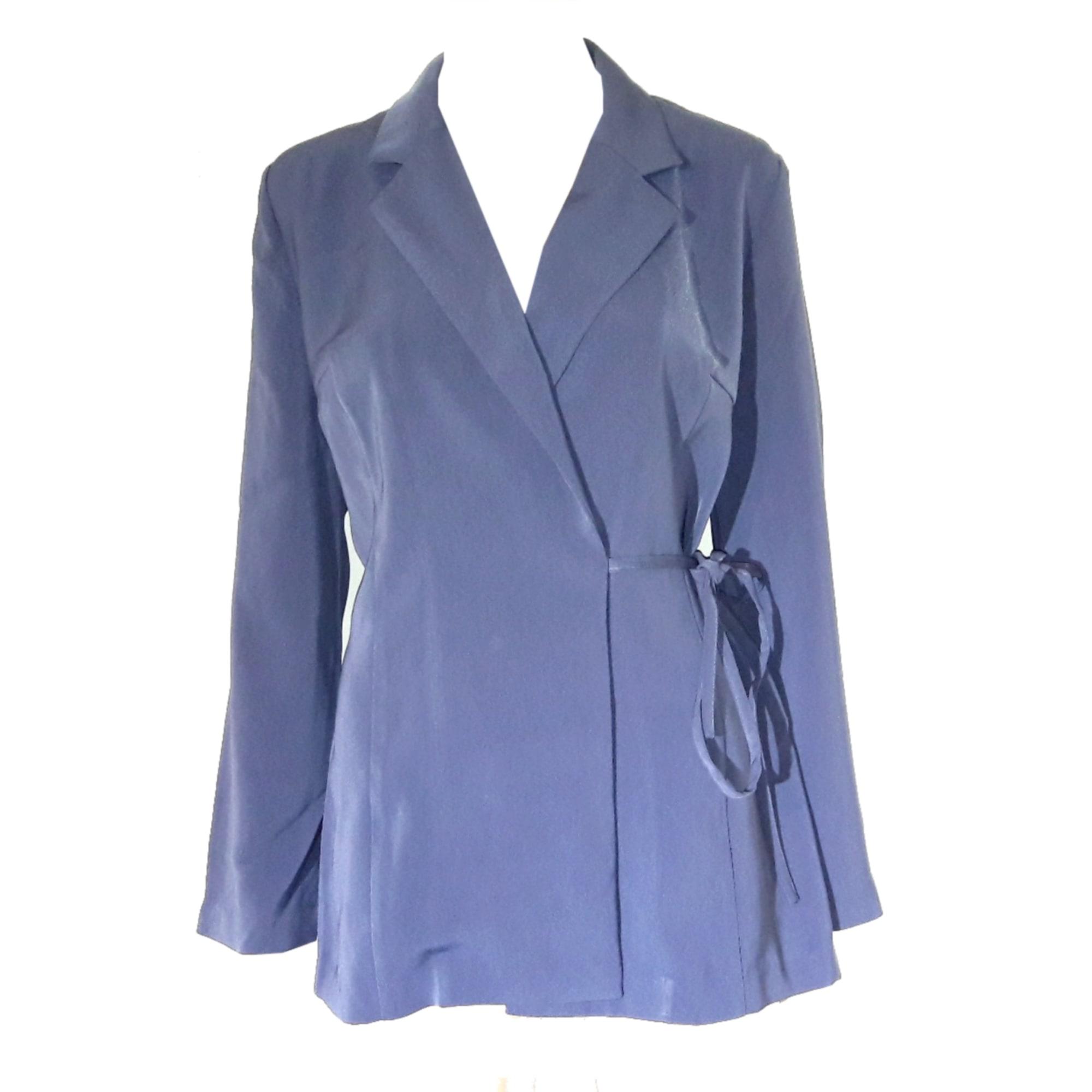 Blazer, veste tailleur CAROLL Bleu, bleu marine, bleu turquoise e1d203f4c82a
