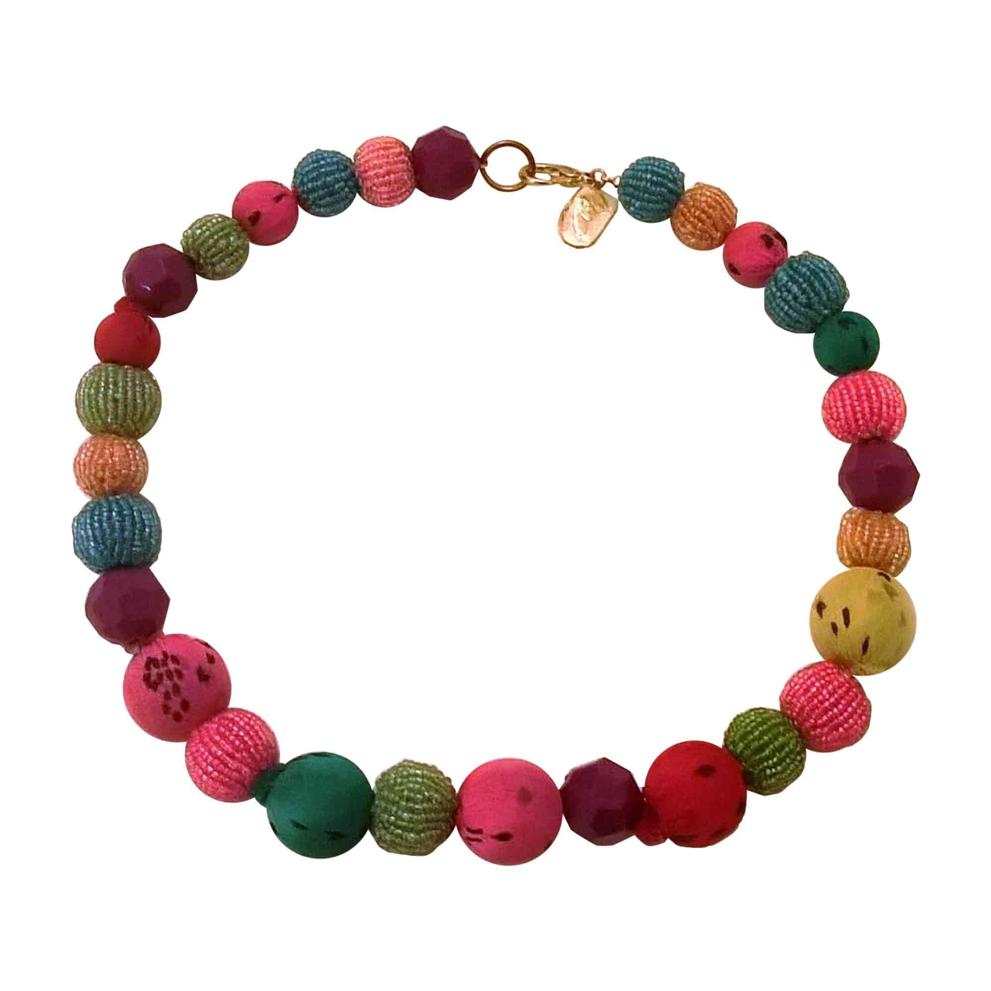 Collier ETRO verre multicolore