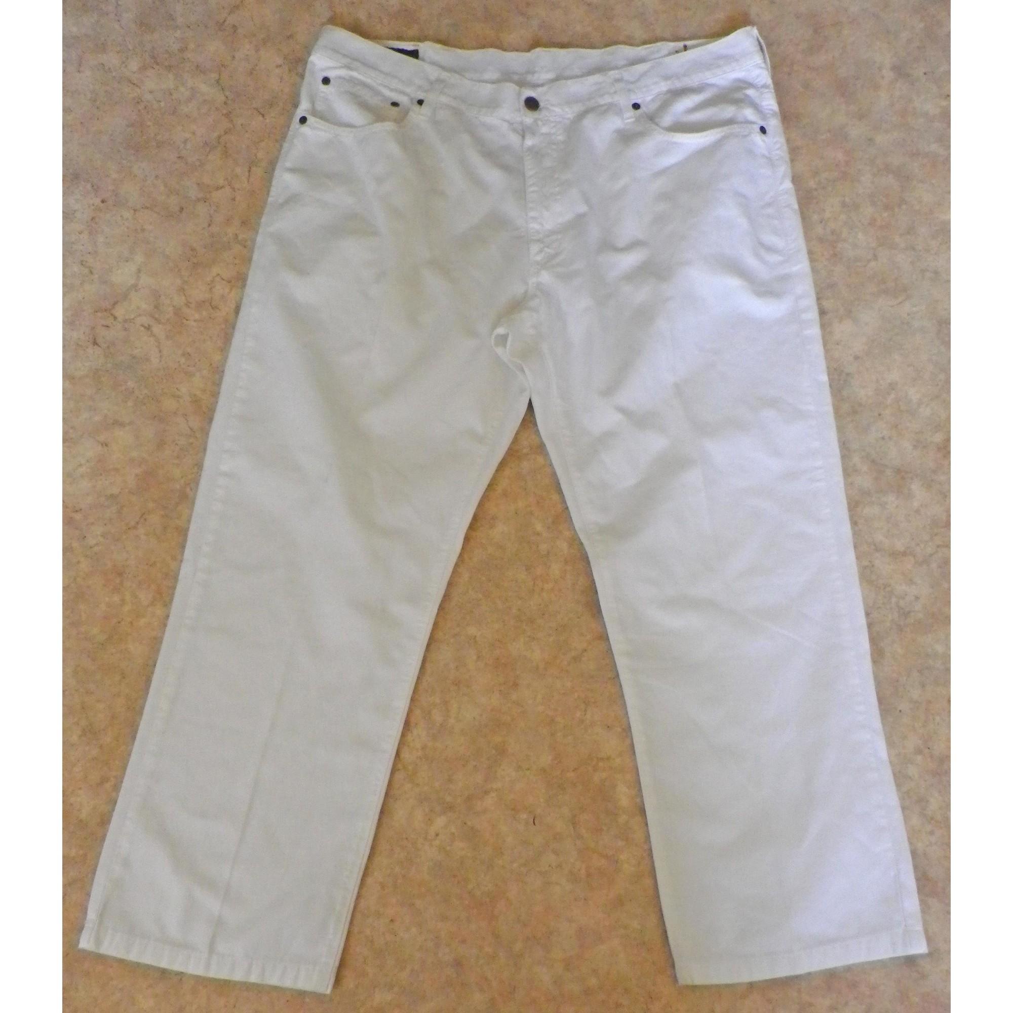 Jeans droit MCS Blanc, blanc cassé, écru