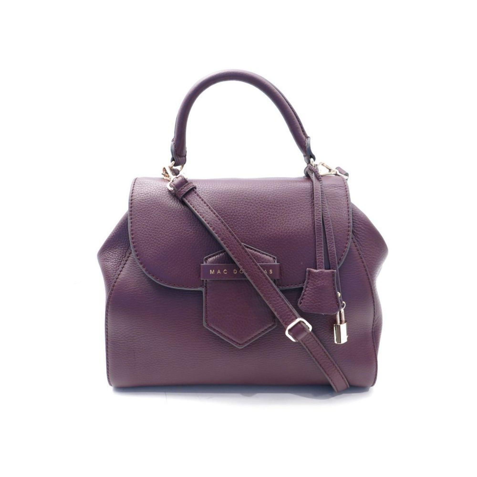9774bbd25dac Sac en bandoulière en cuir MAC DOUGLAS violet vendu par Encherexpert ...