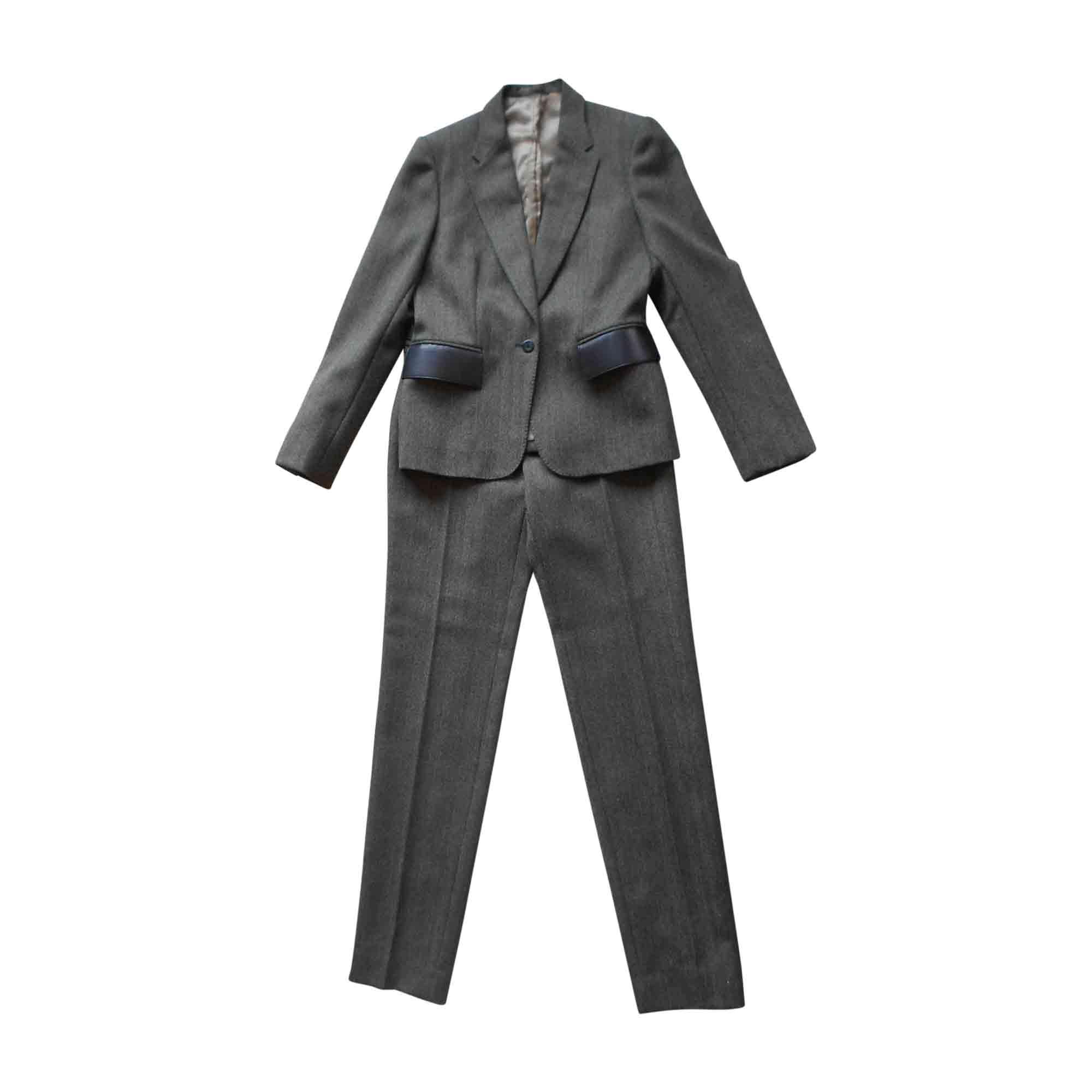 Tailleur pantalon GUCCI 40 (L, T3) kaki - 6143819 011de66188e