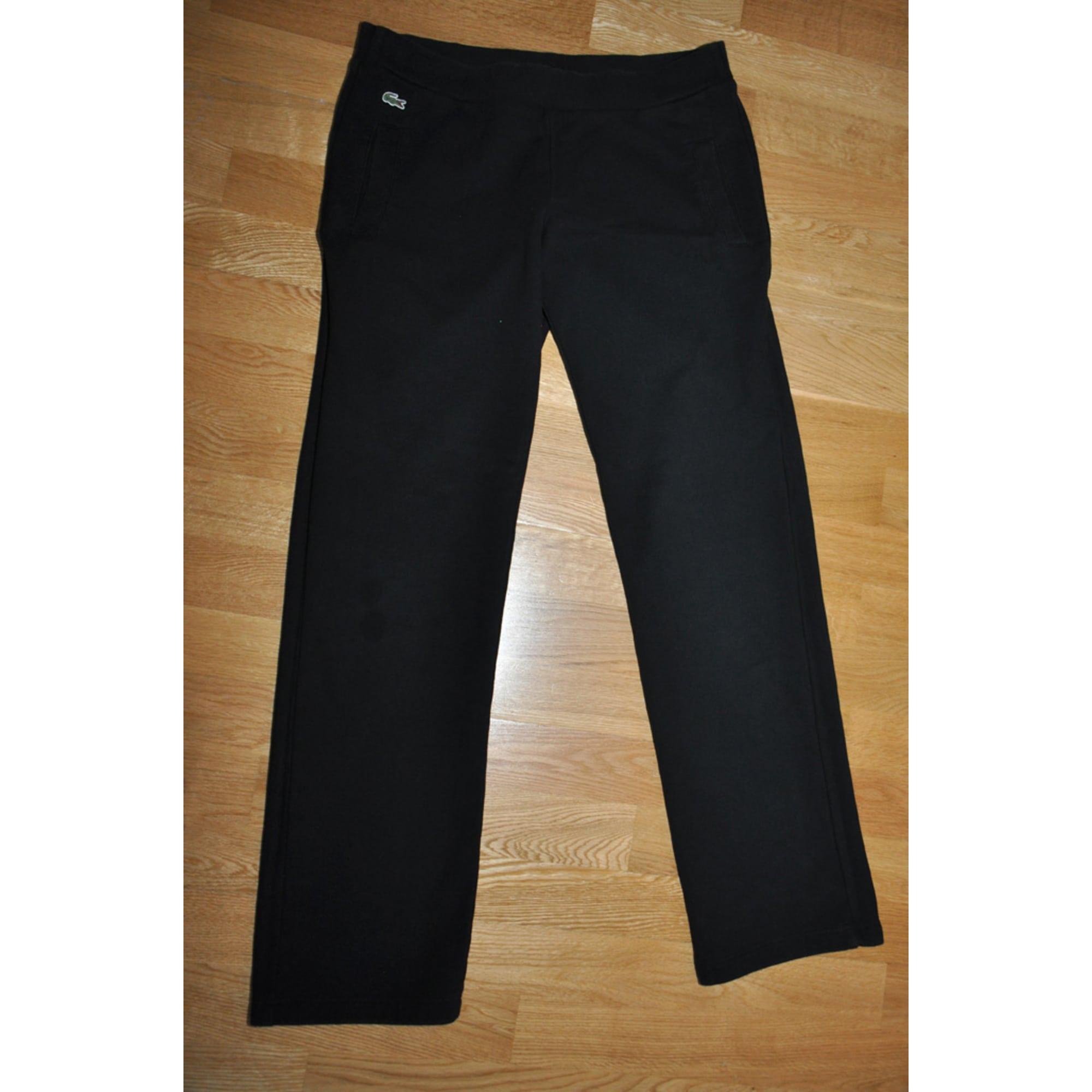 1cf56d77c5 Pantalon de survêtement LACOSTE 44 (XL/XXL, T5) noir - 6154540
