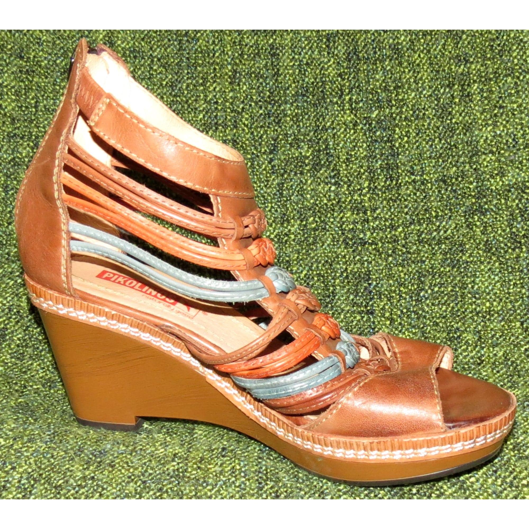 Sandales Marron Pikolinos 37 Compensées 6155631 54AjL3ScRq