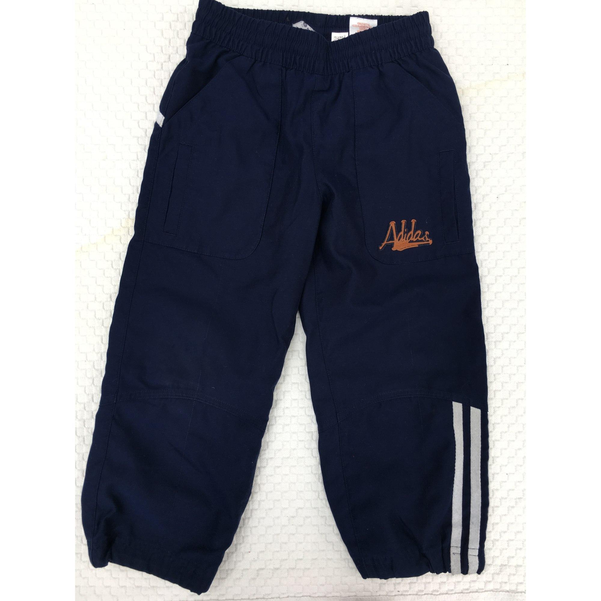 38c2fcf4950c0 Pantalon de survêtement ADIDAS 3-4 ans bleu - 6163602