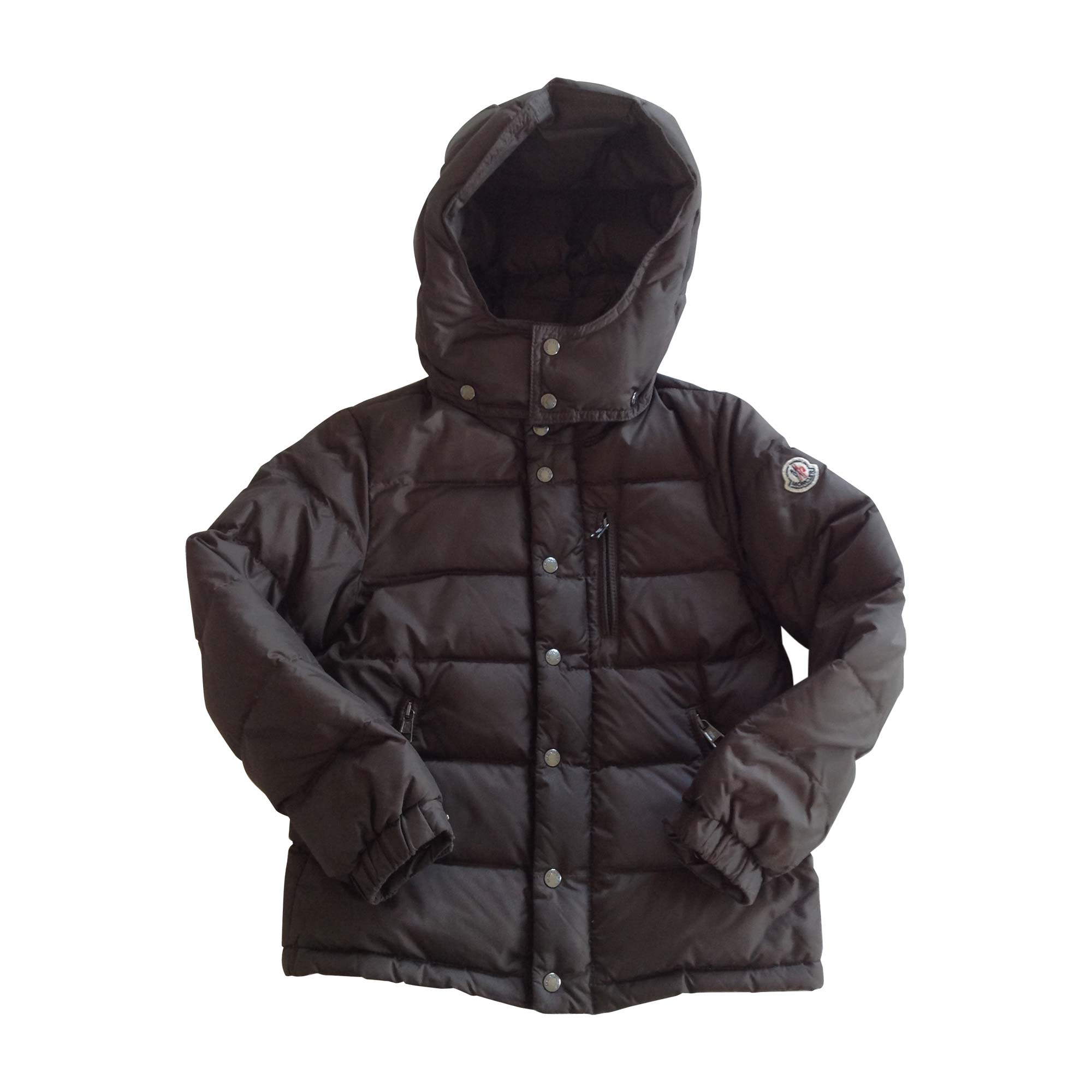 Down Jacket MONCLER Brown