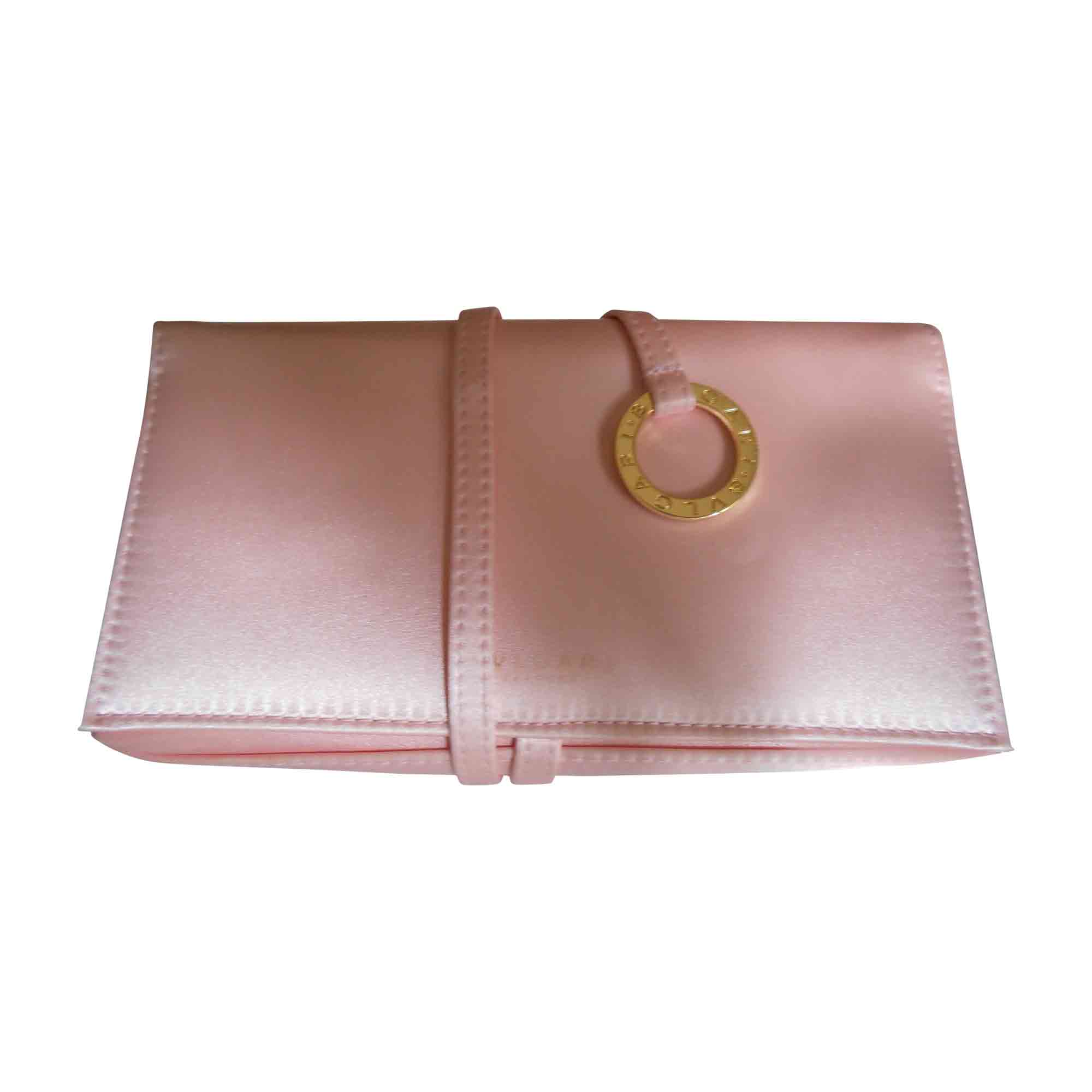 sac pochette en tissu bulgari rose vendu par evad 6167284. Black Bedroom Furniture Sets. Home Design Ideas