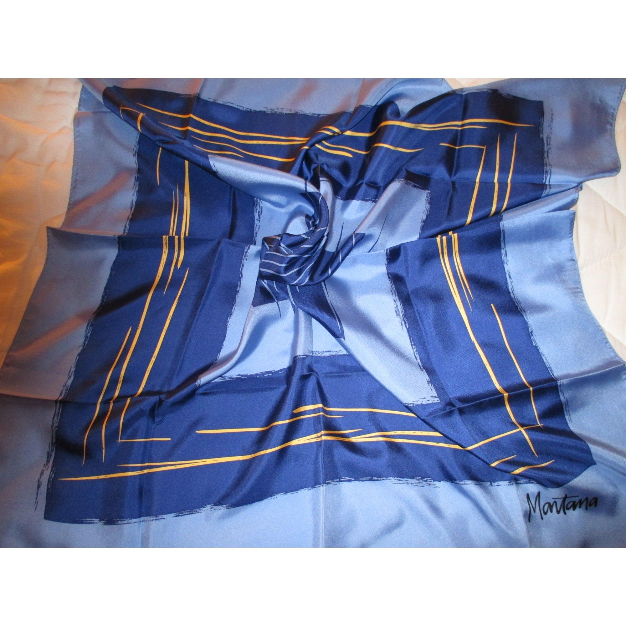 Foulard MONTANA Bleu, bleu marine, bleu turquoise