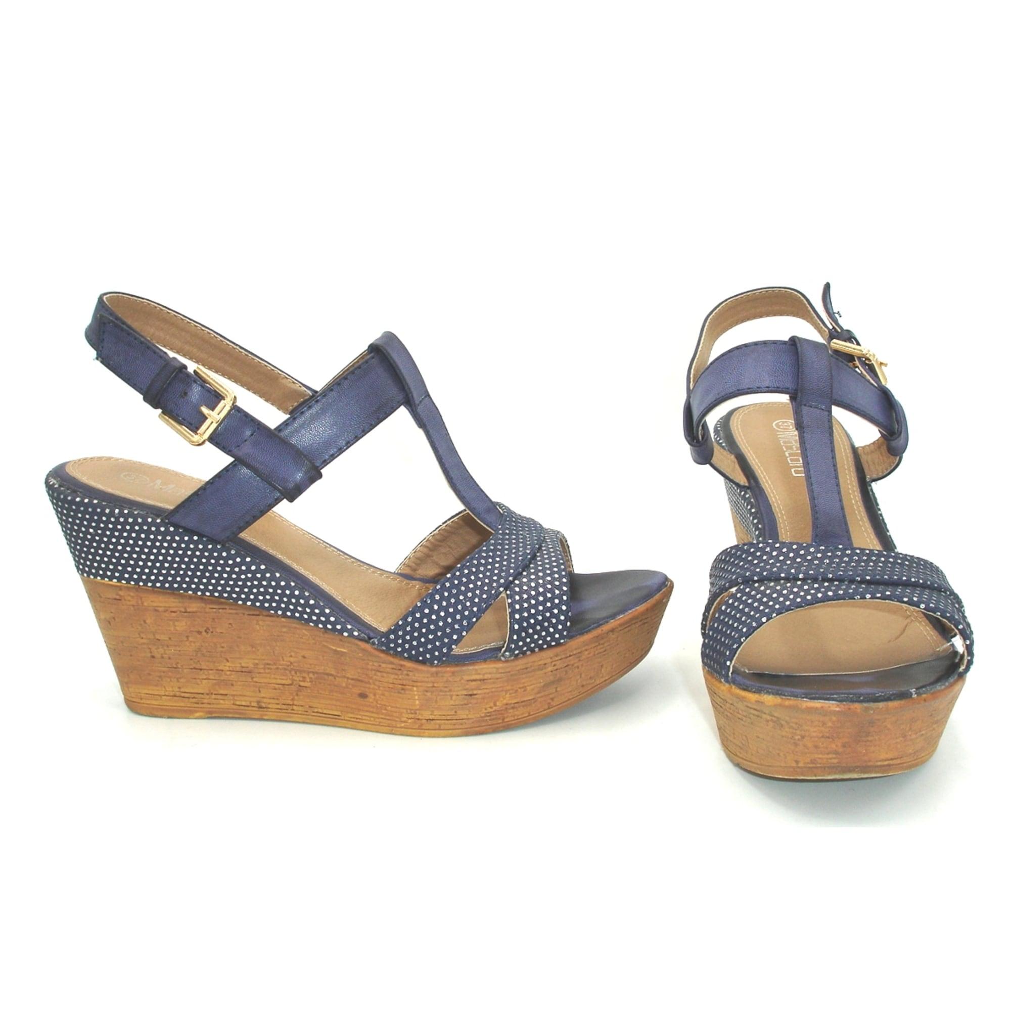Sandales Sandales Compensées Compensées Mascara Sandales Mascara 0k8wOPXn