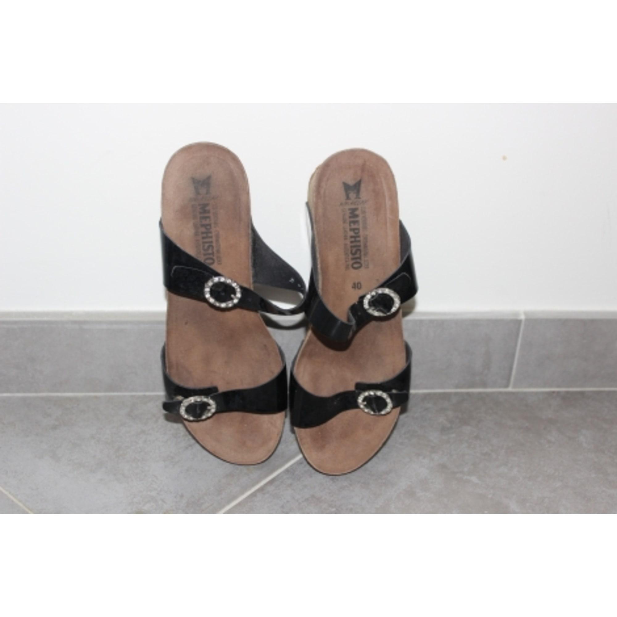 d5d8e7c026b570 Sandales compensées MEPHISTO 40 marron vendu par Mhysa06 - 6206915