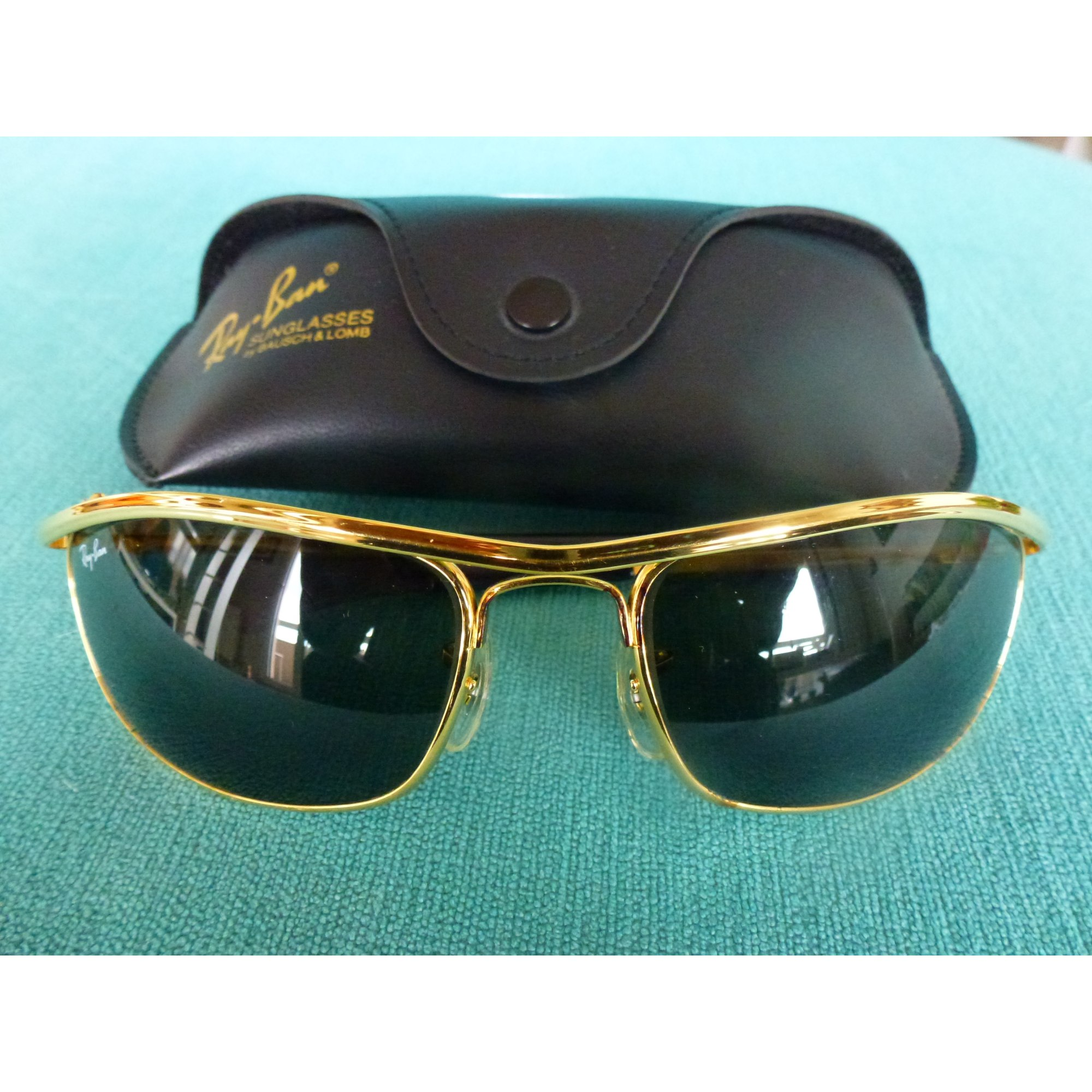 ce61fe142a7e95 Lunettes de soleil RAY-BAN doré vendu par Shopping girl 7 - 6215593