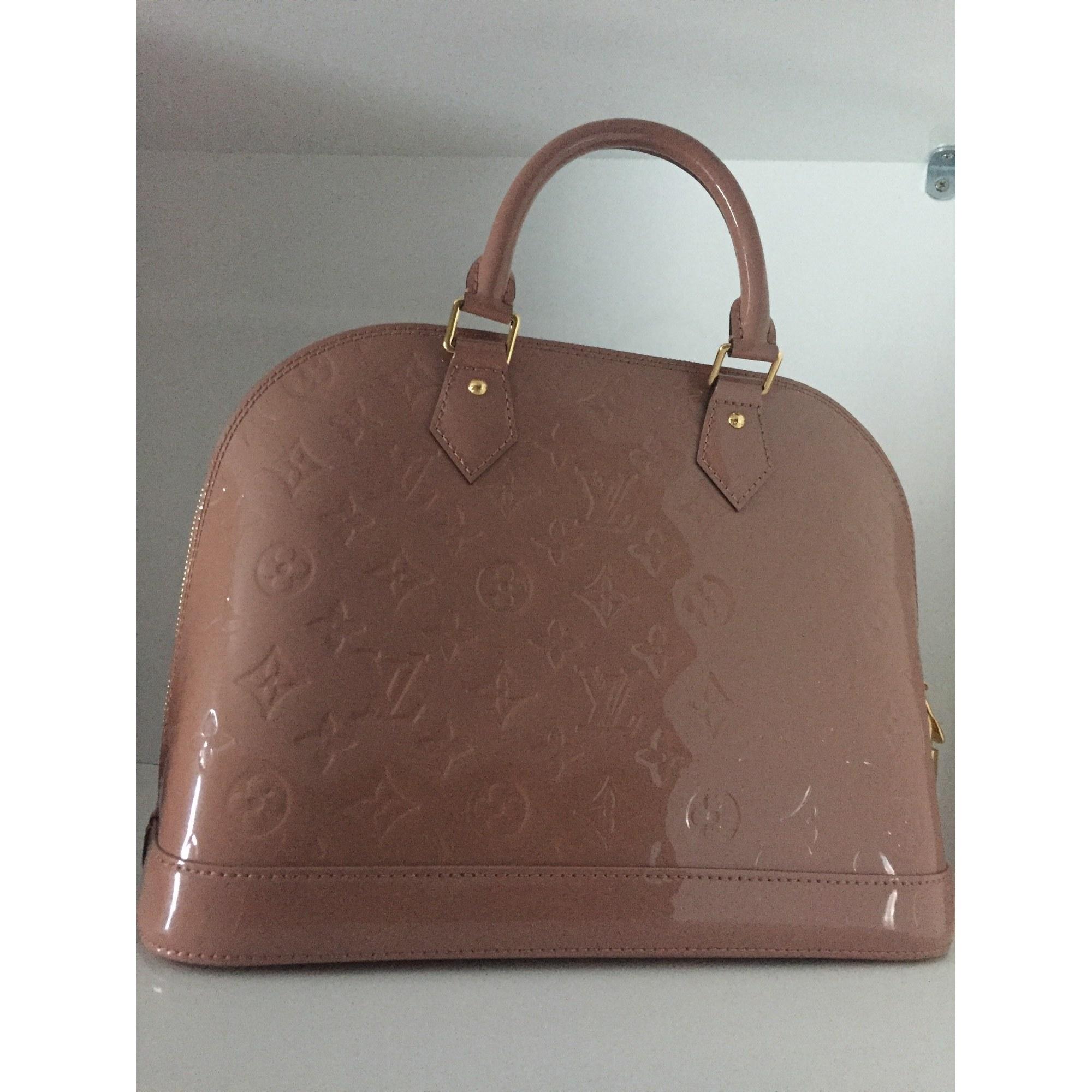 Sac à main en cuir LOUIS VUITTON rose velours vendu par Maeva ... 9a8517f6a060