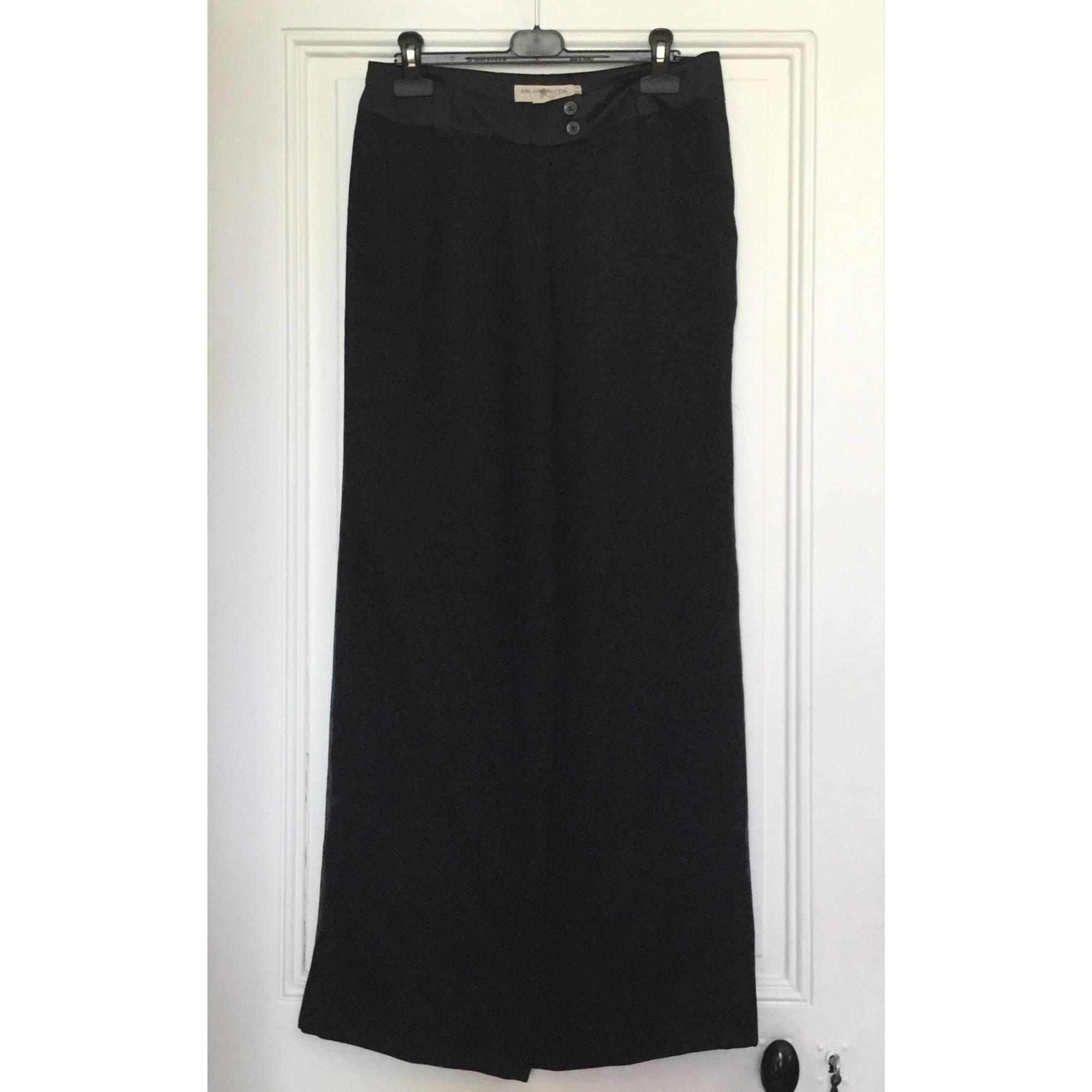 Pantalone Largo Blunauta 42 Lxl T4 Nero 6223022