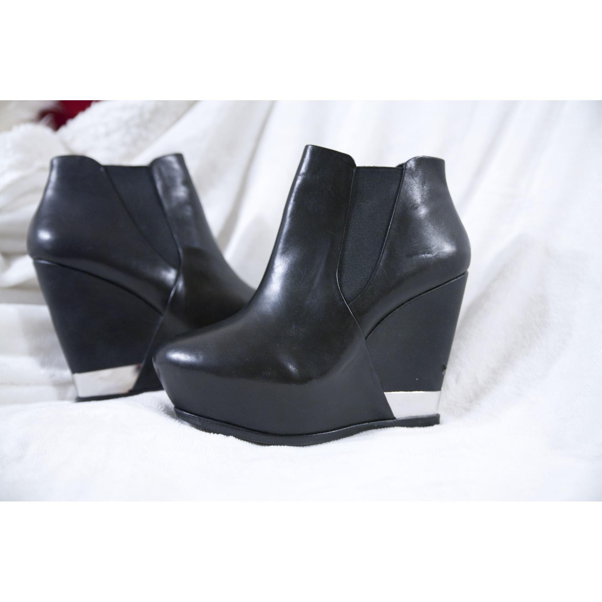 pas mal 31707 52a8d Bottines & low boots à compensés