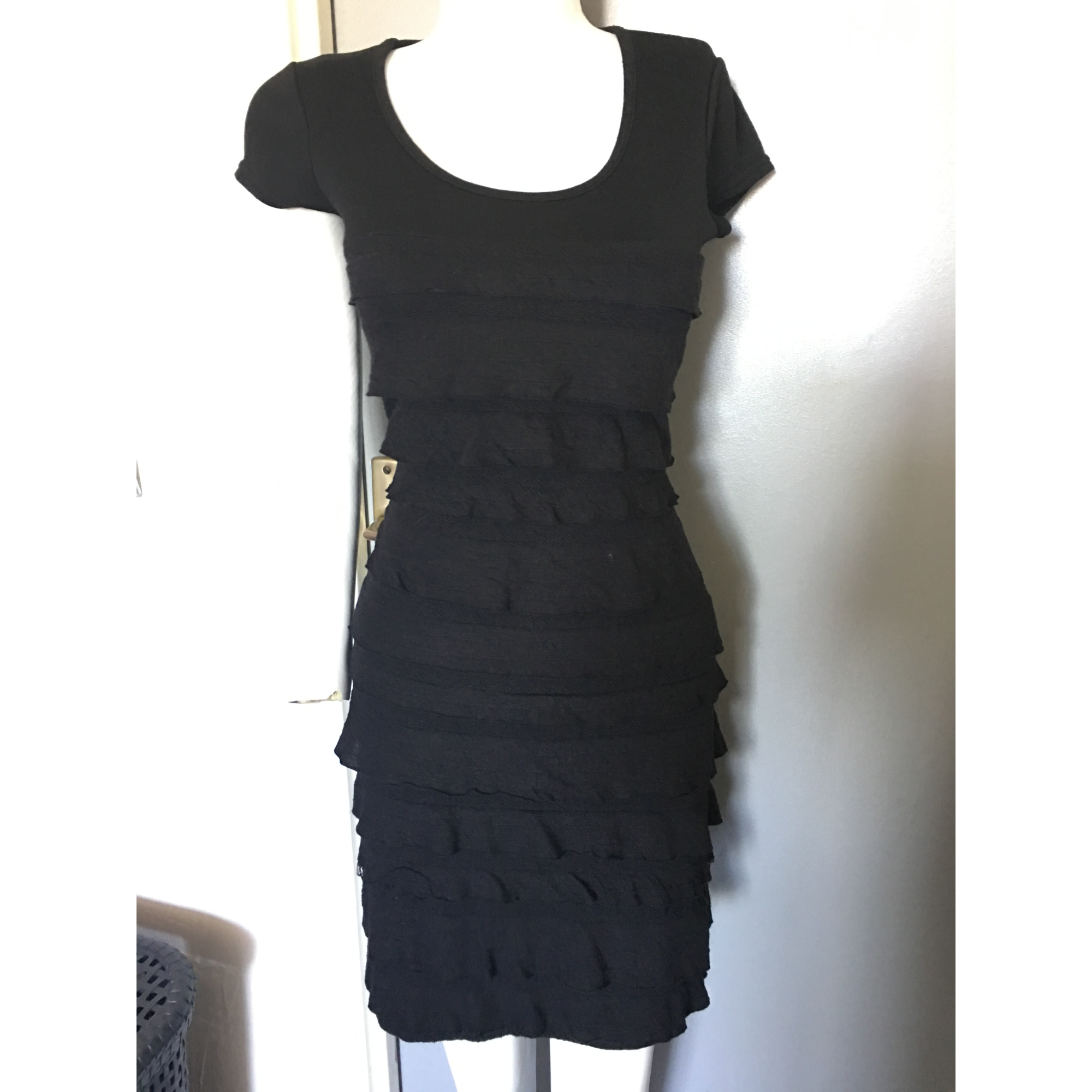 Renatto Unique Bene Courte Noir Robe 6258725 Taille aW54SSxq