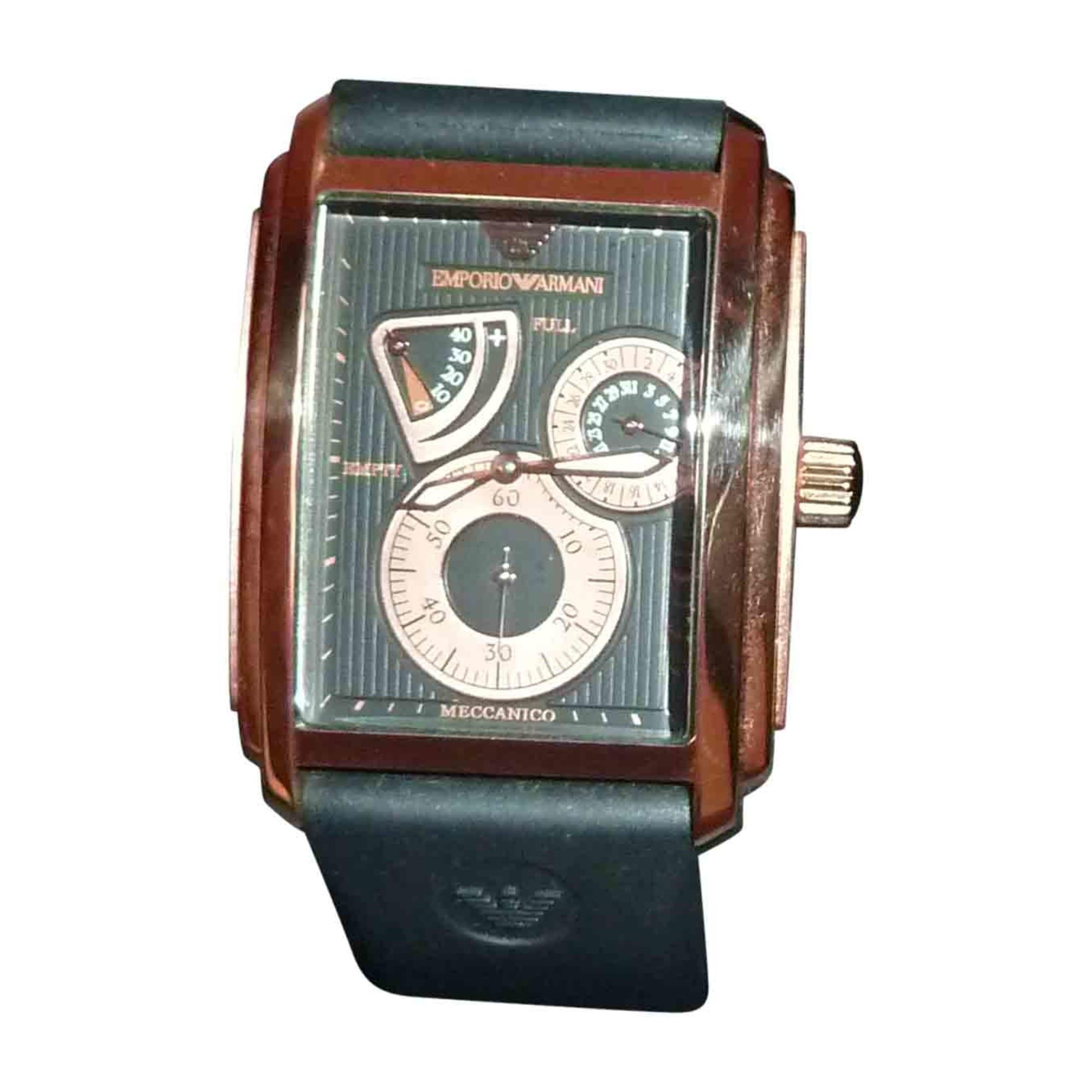 Montre au poignet EMPORIO ARMANI noir vendu par Donsoso487595 - 6263271 1b105d70d6b
