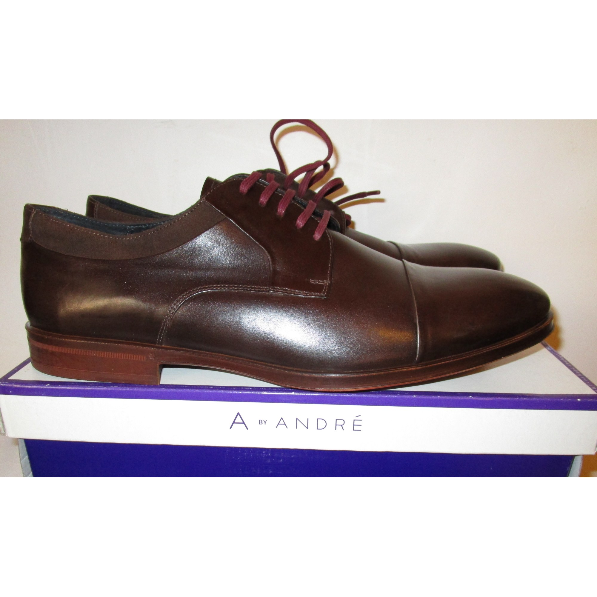 51ff0f27477ed0 Chaussures à lacets ANDRÉ 46 marron vendu par Vama - 6274452