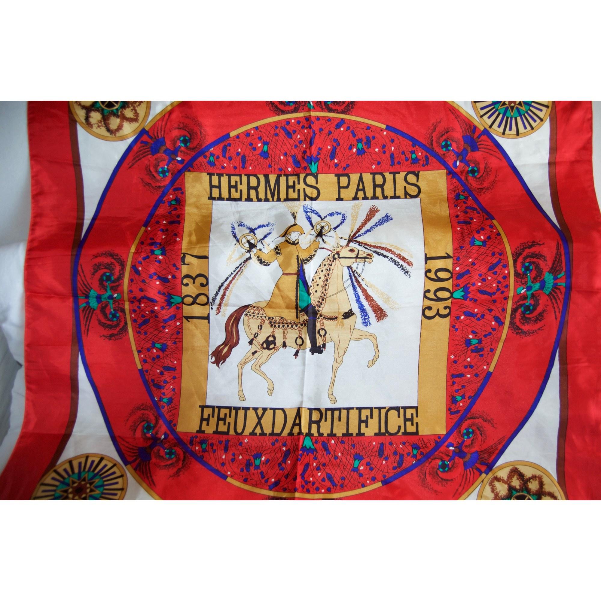 Foulard HERMÈS carr multicouleur vendu par Mesmodes - 6277717 d97ea0f9e7c