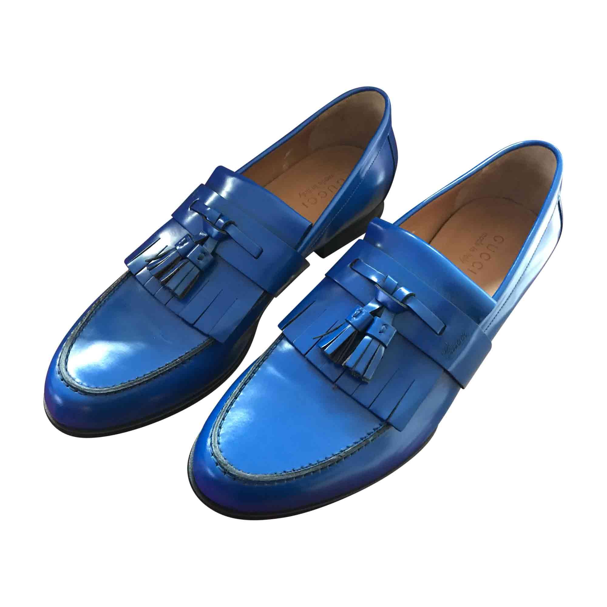 Mocassins GUCCI 42 bleu vendu par Giumelli - 6286287 66f06325204