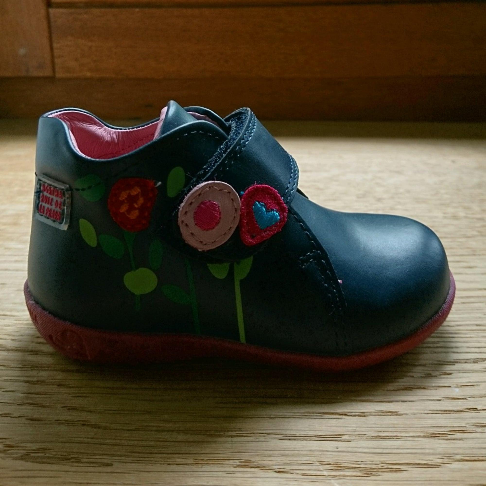 Prada La Agatha Scratch 20 6302775 Ruiz Bleu À Chaussures De YRwOOq