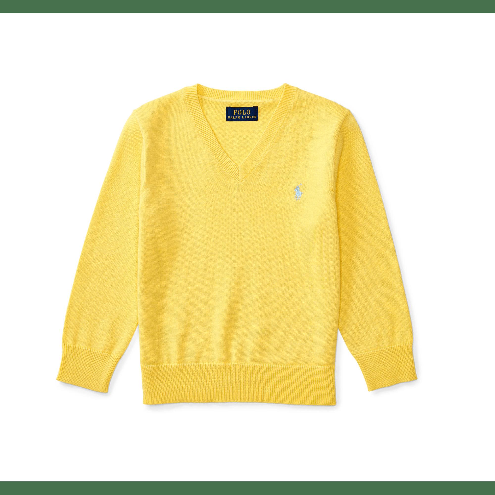 Pull RALPH LAUREN 2 ans jaune vendu par Ma p tite penderie couture ... 65f627e5918