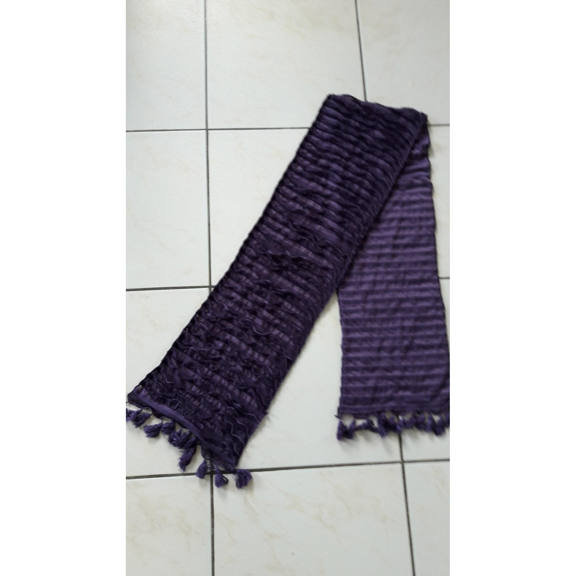 Echarpe MARQUE INCONNUE Violet, mauve, lavande