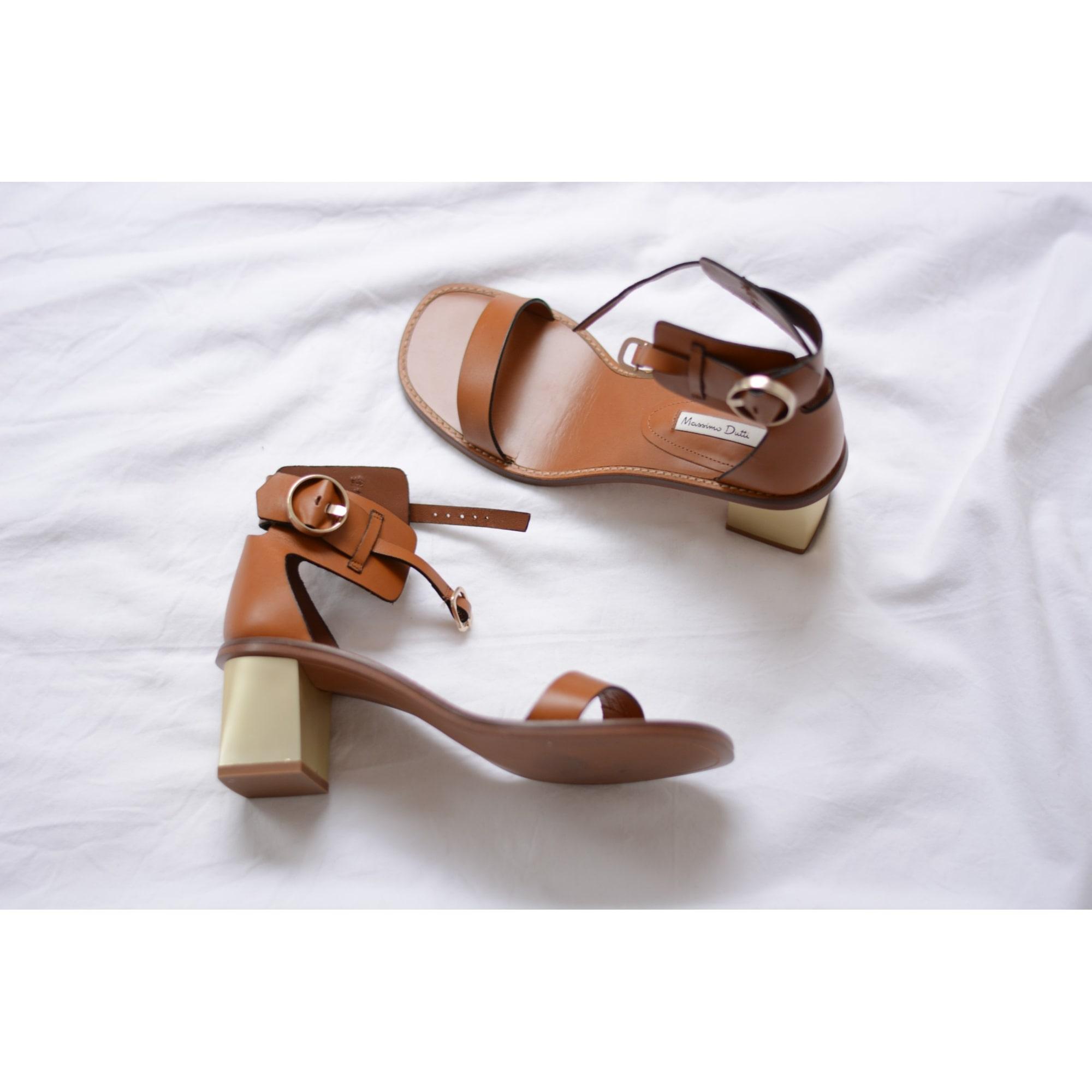 profiter du prix le plus bas comment acheter courir chaussures Heeled Sandals MASSIMO DUTTI
