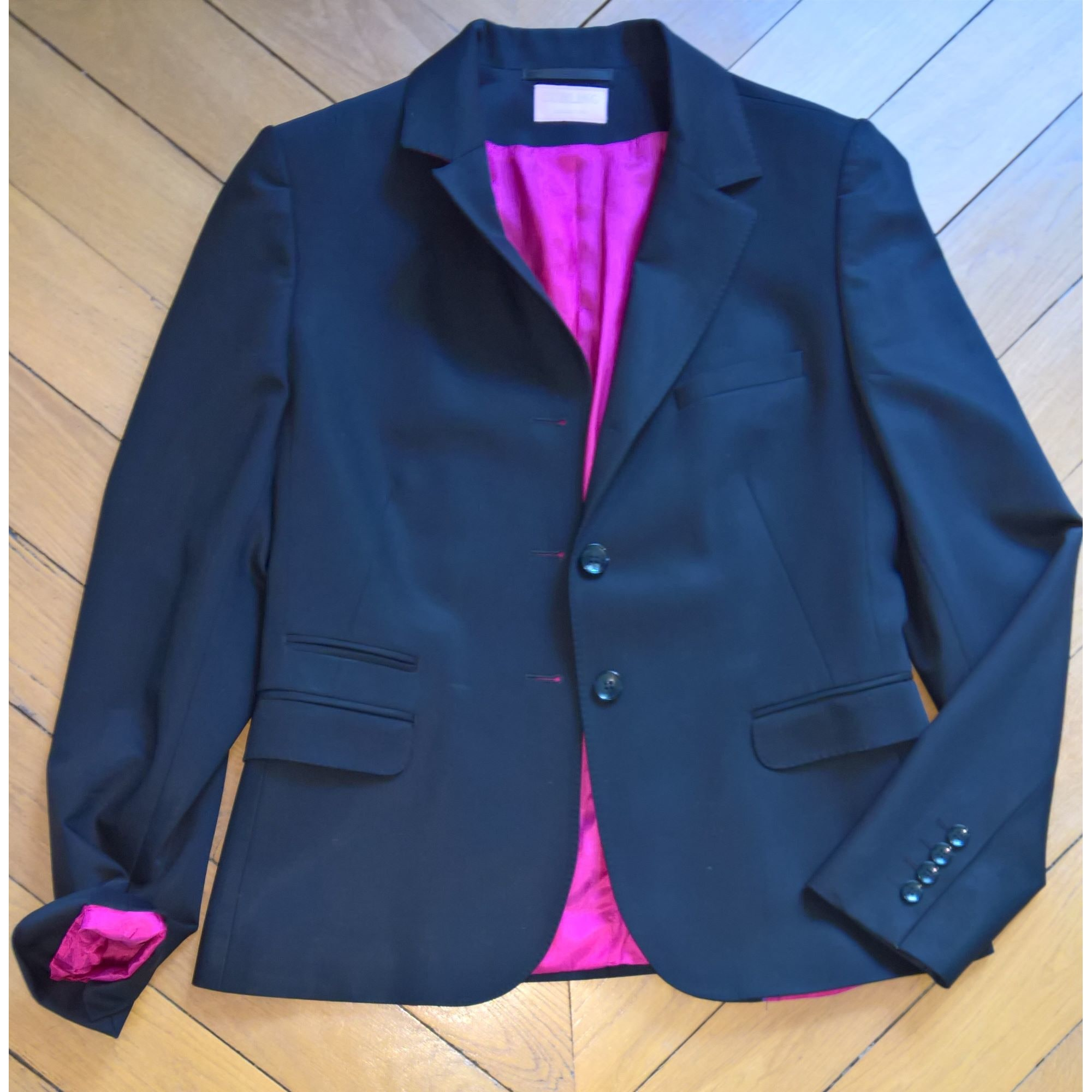 Blazer, Giacca tailleurr CURLING Nero