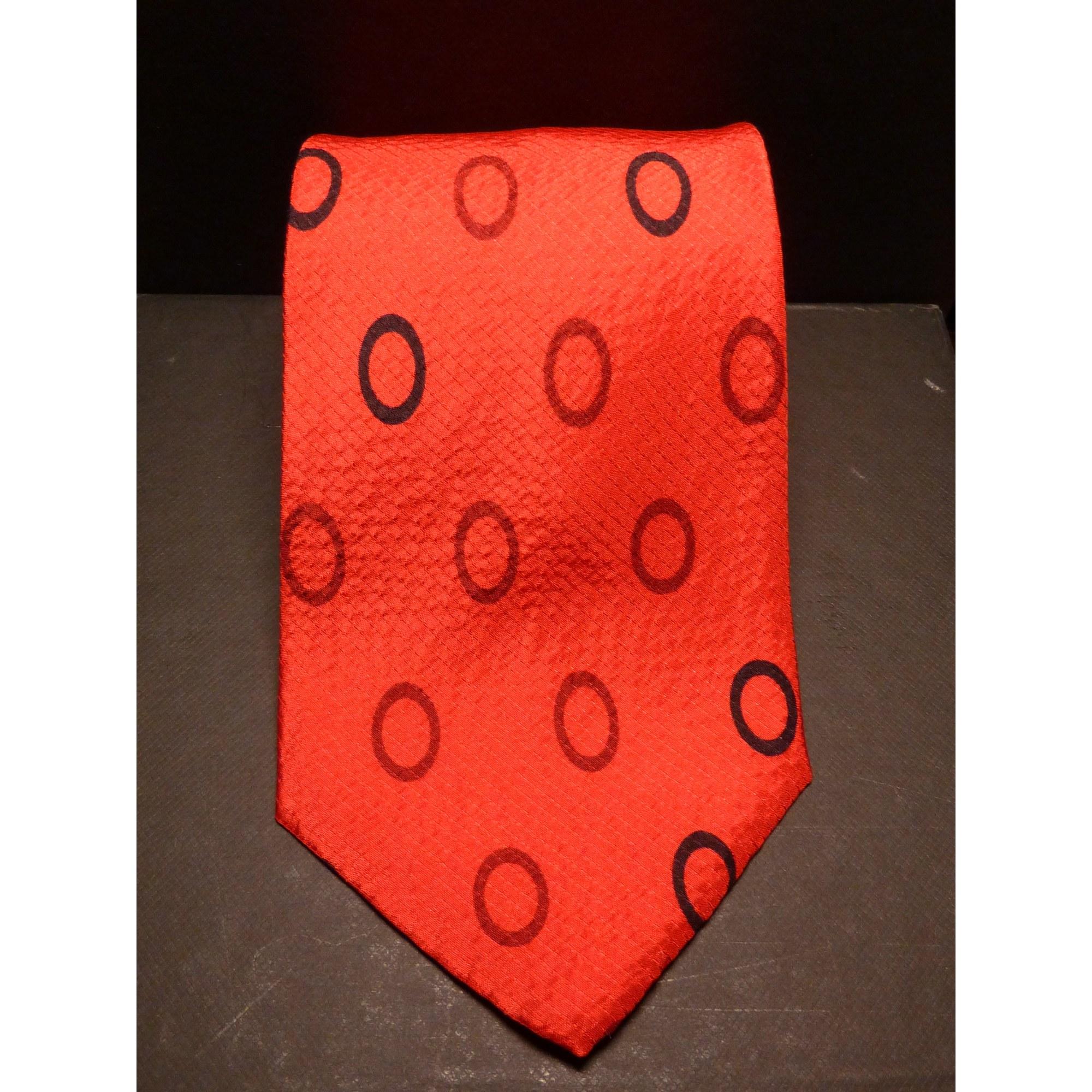 Cravate PACO RABANNE Rouge, bordeaux