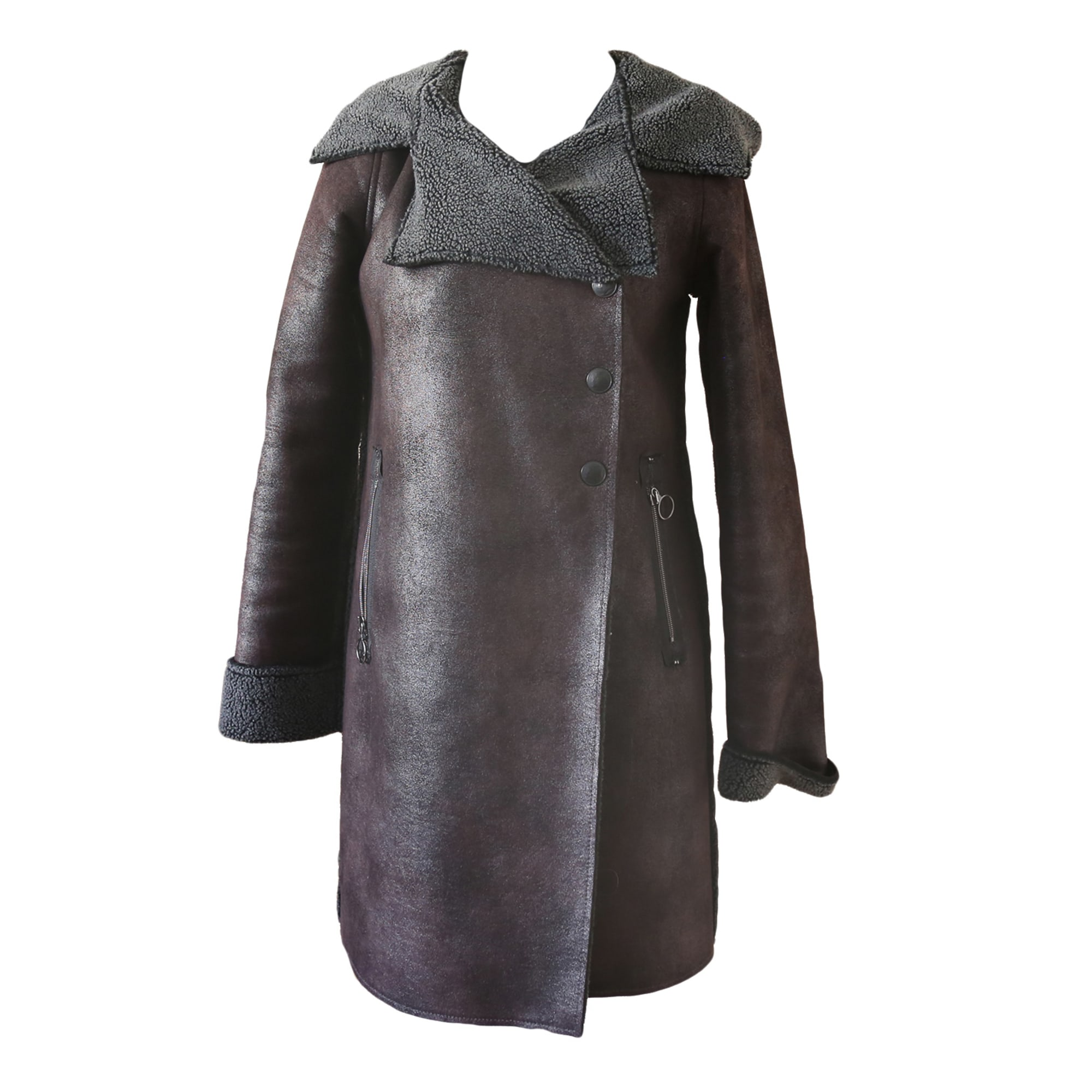 6338489 Manteau Cop Copine 38mT2Marron Vendu Inesshopping Par qSUzMpV