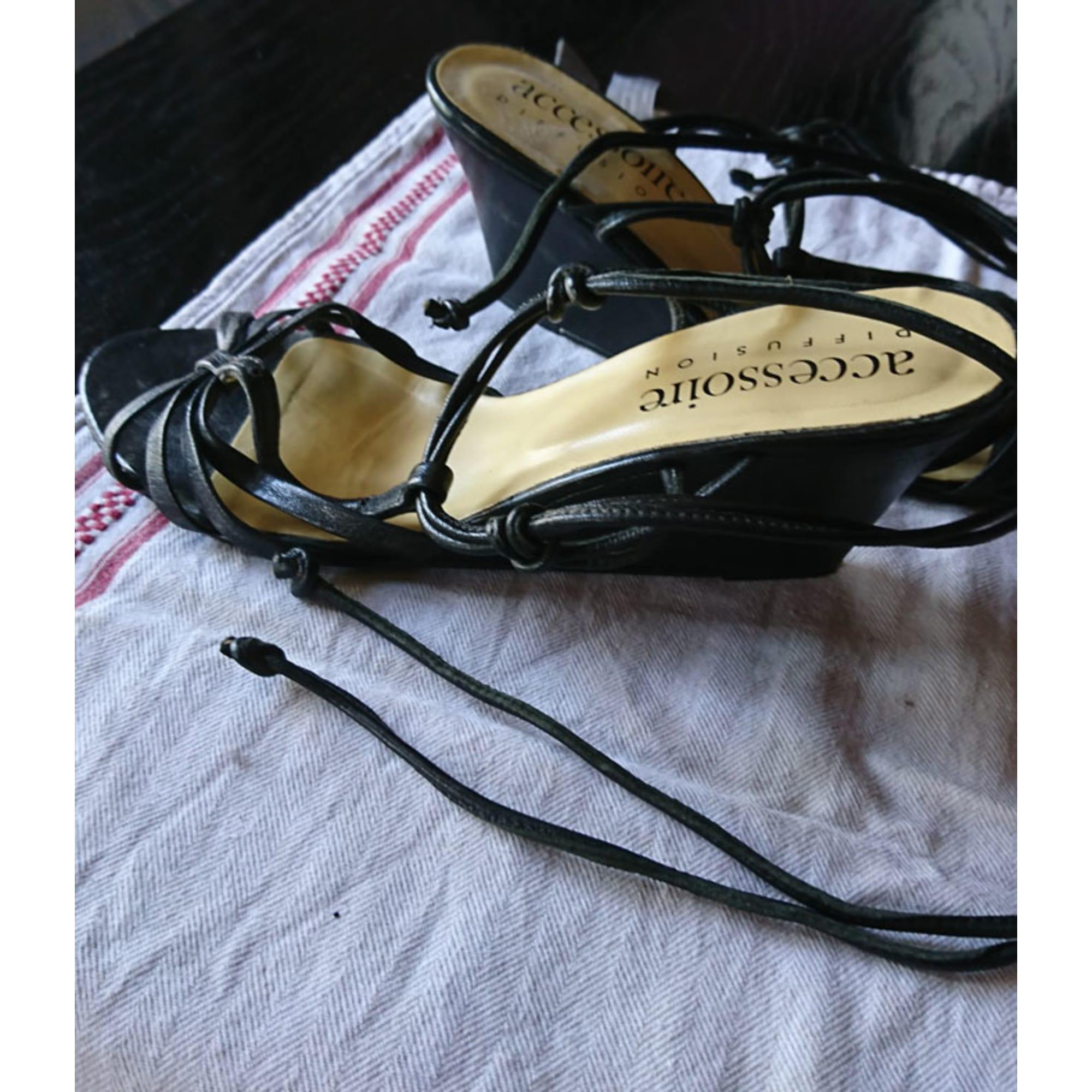 first look various design wide range ACCESSOIRE DIFFUSION Sandales compensées DIFFUSION ...