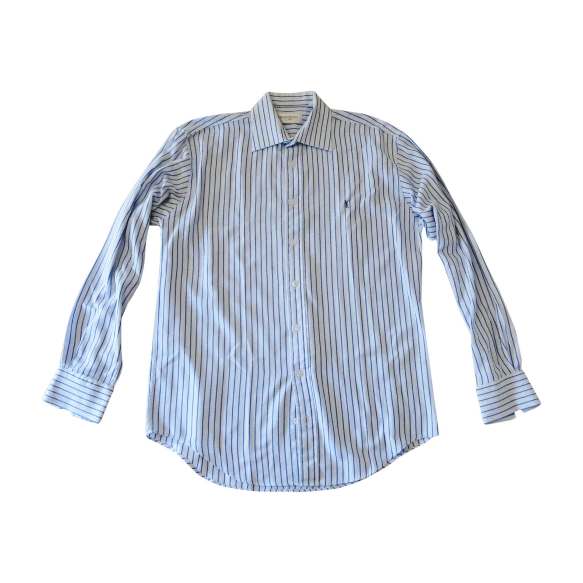 chemise yves saint laurent 41 42 l blanc vendu par. Black Bedroom Furniture Sets. Home Design Ideas