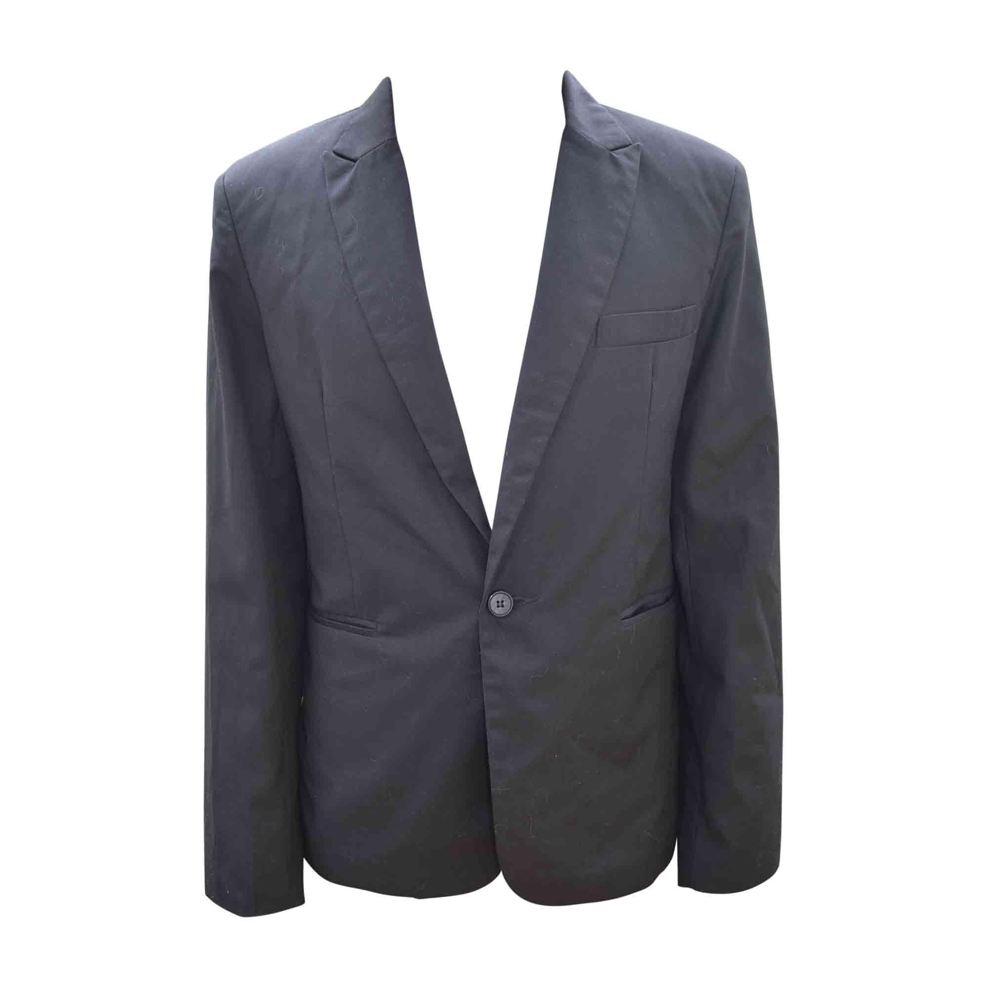 22d28661a5f Veste de costume DIOR 52 (L) noir - 6386049