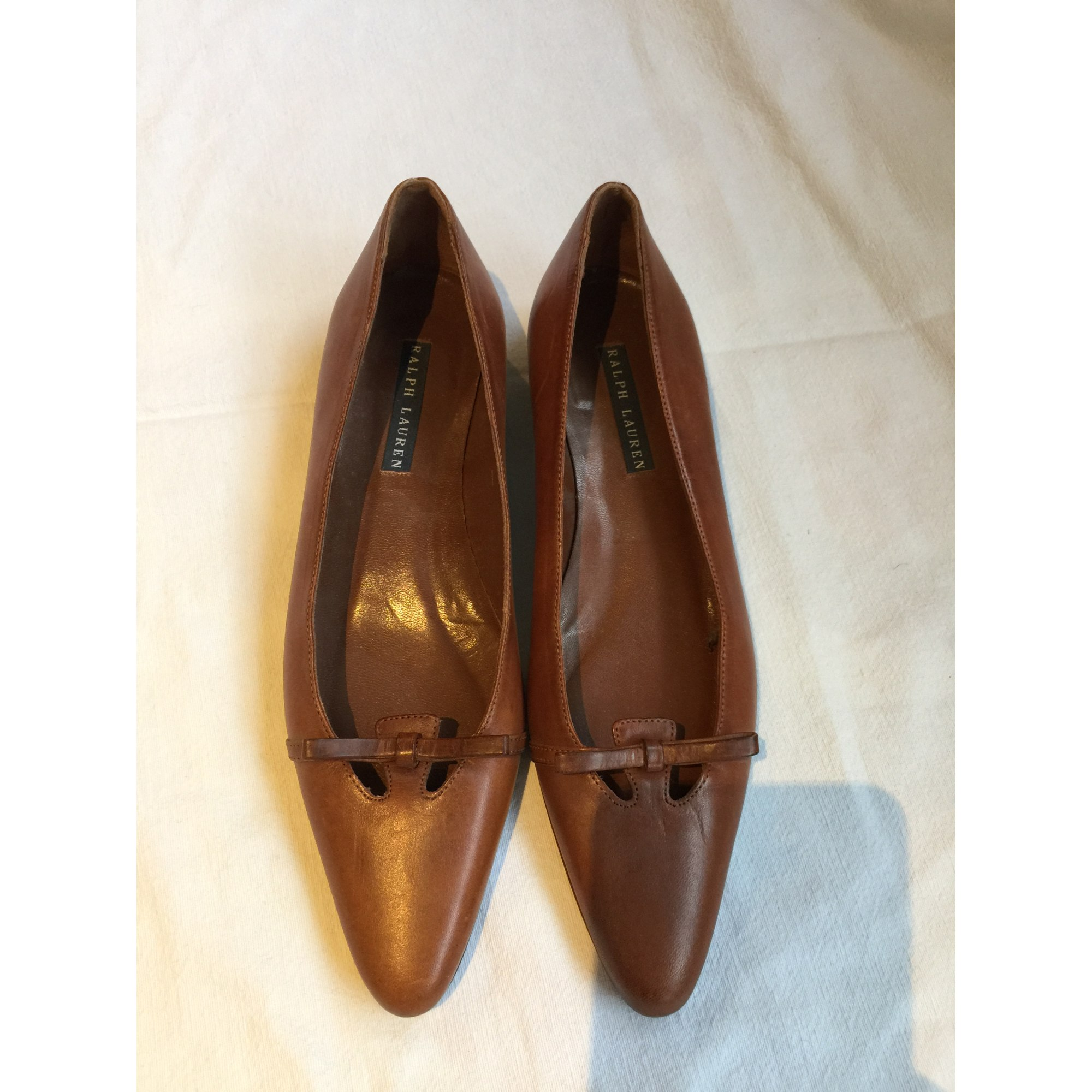 Escarpins RALPH LAUREN Marron
