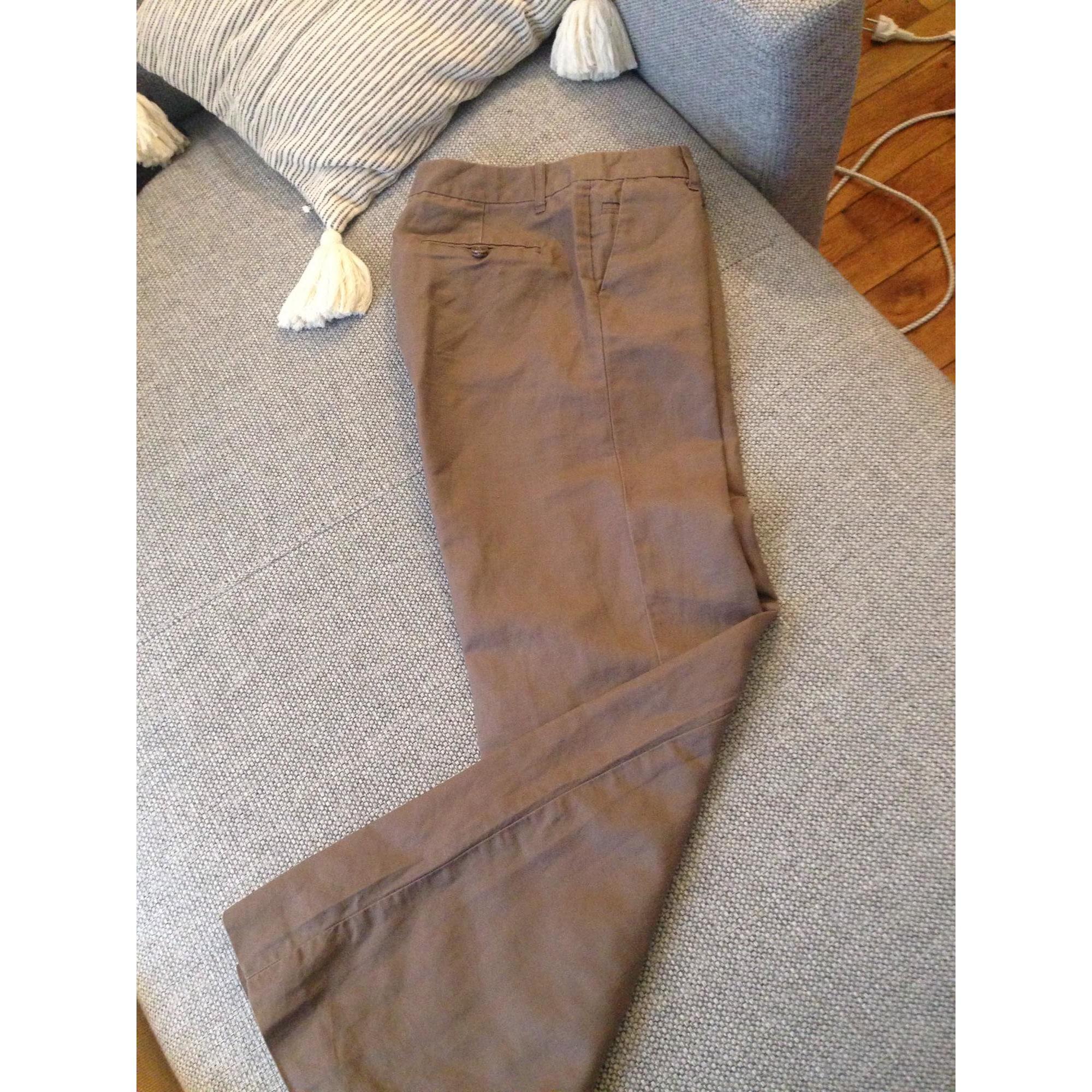 Pantalon évasé GAP Taupe