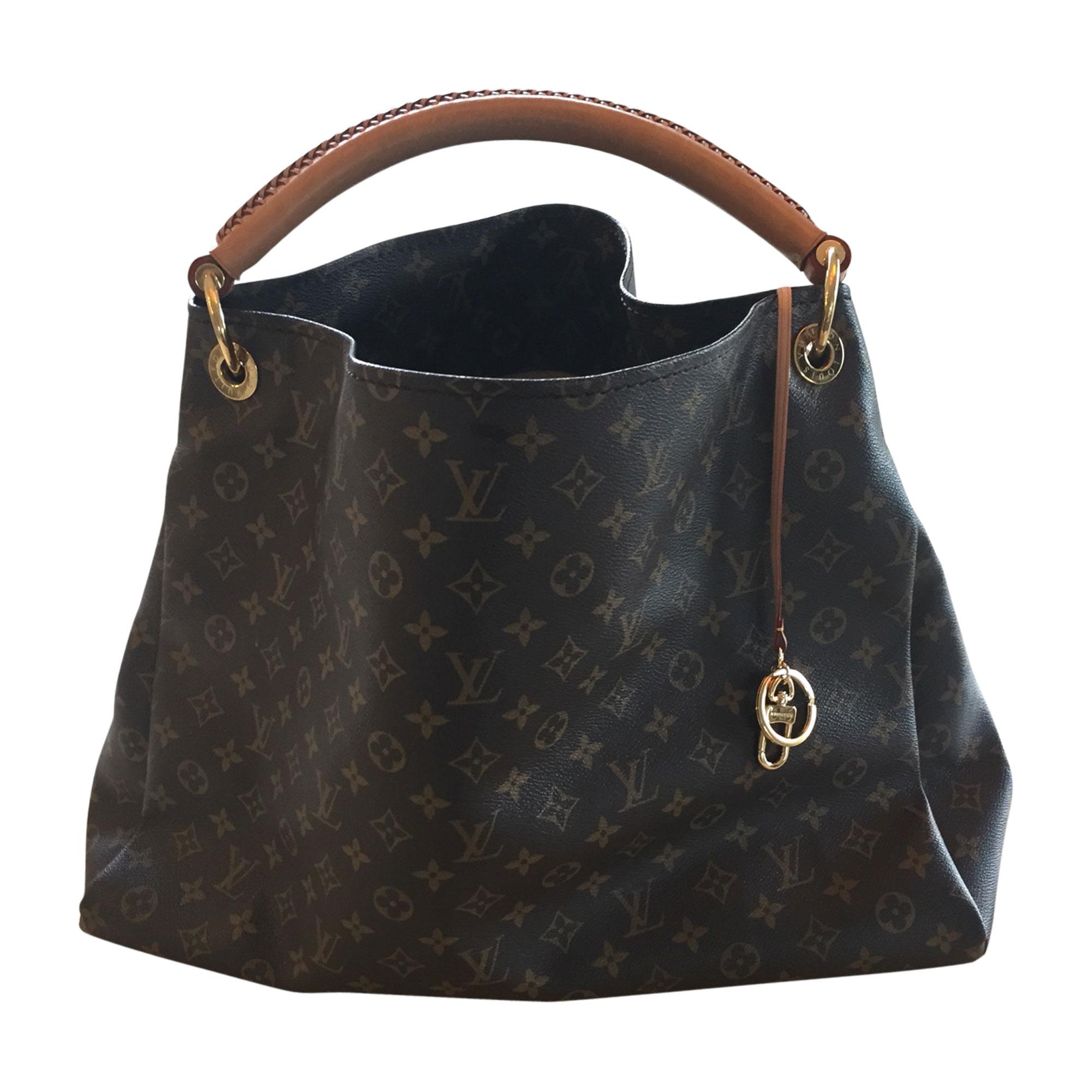 d9c650792ba Sac XL en cuir LOUIS VUITTON artsy marron vendu par Melanie 3783 ...