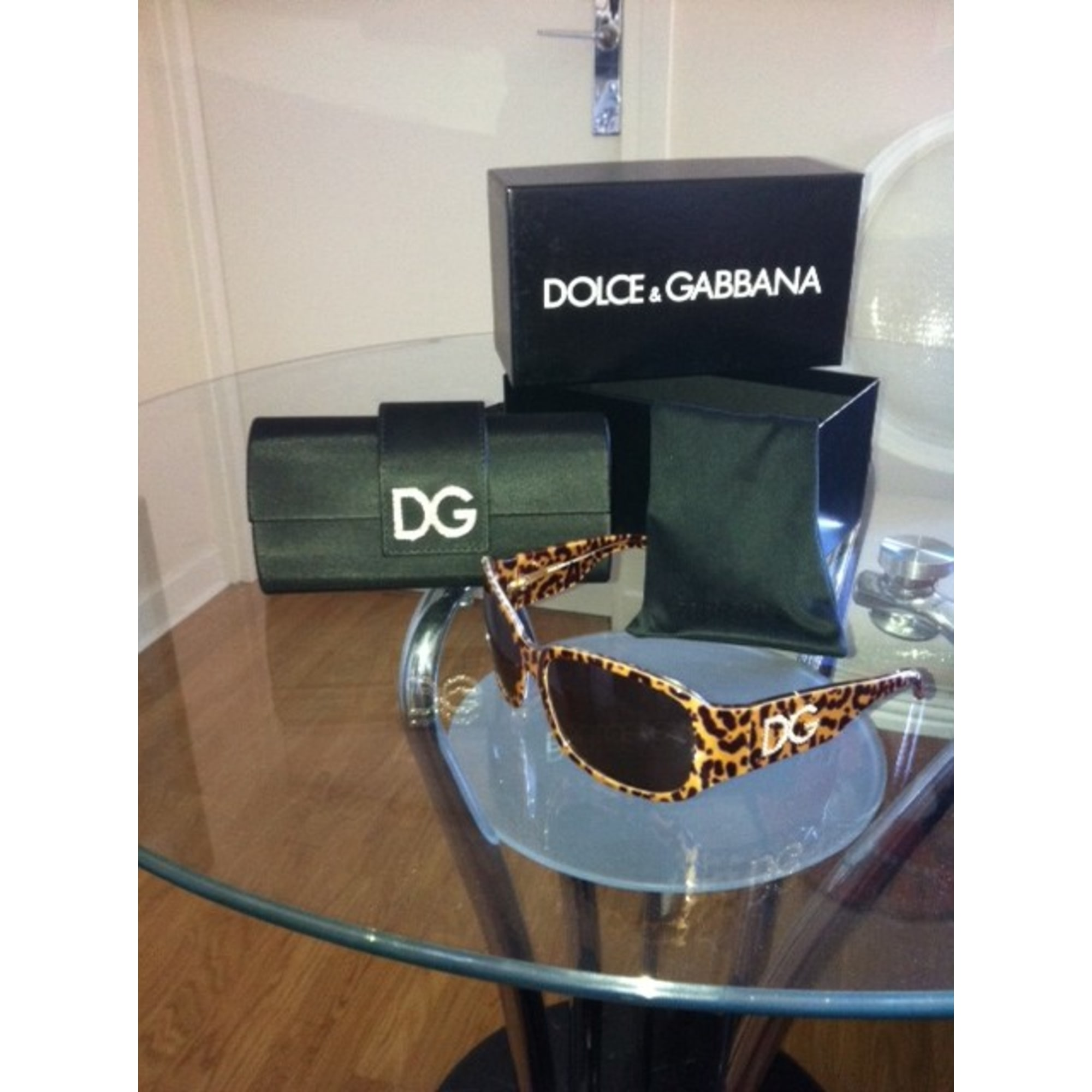 Lunettes de soleil DOLCE   GABBANA imprime léopard vendu par ... bcd6341d2eb2