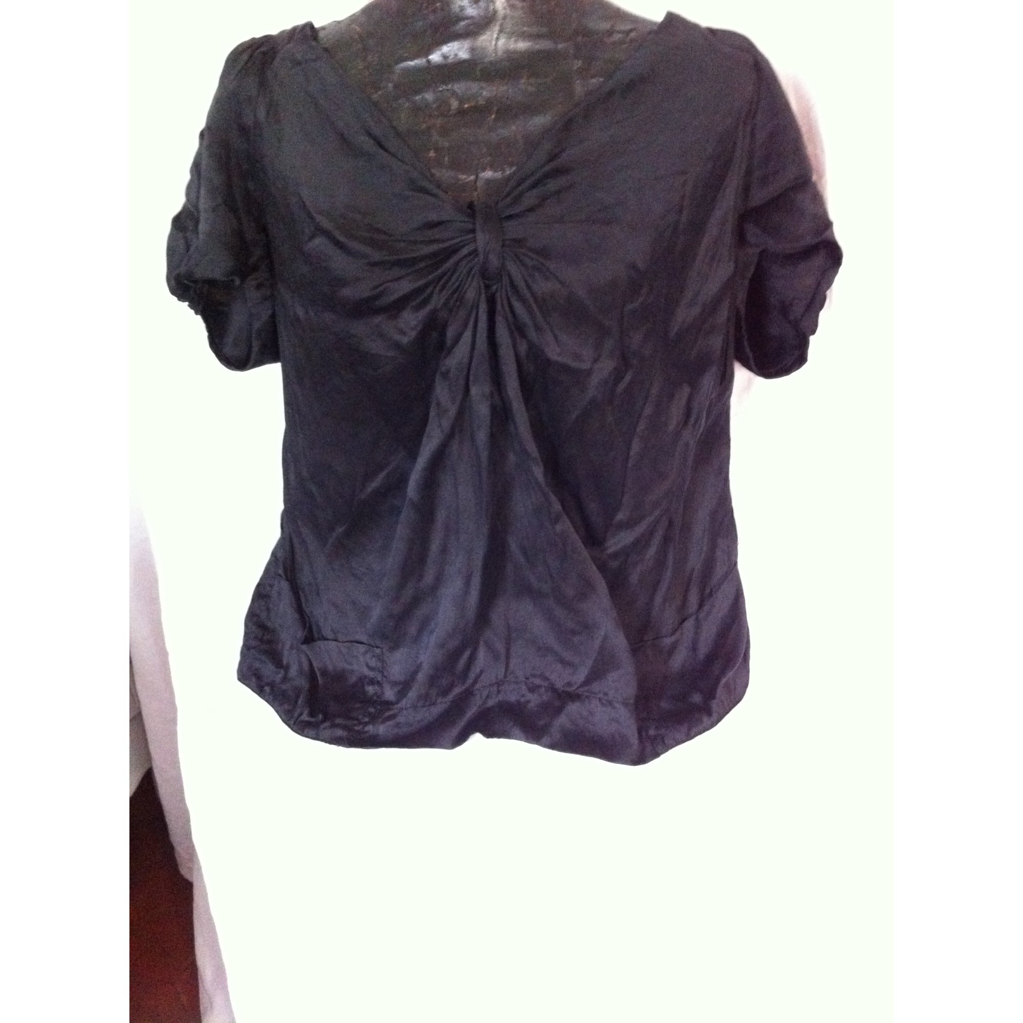 Maje Top, tee-shirt soie 40 (L, T3)
