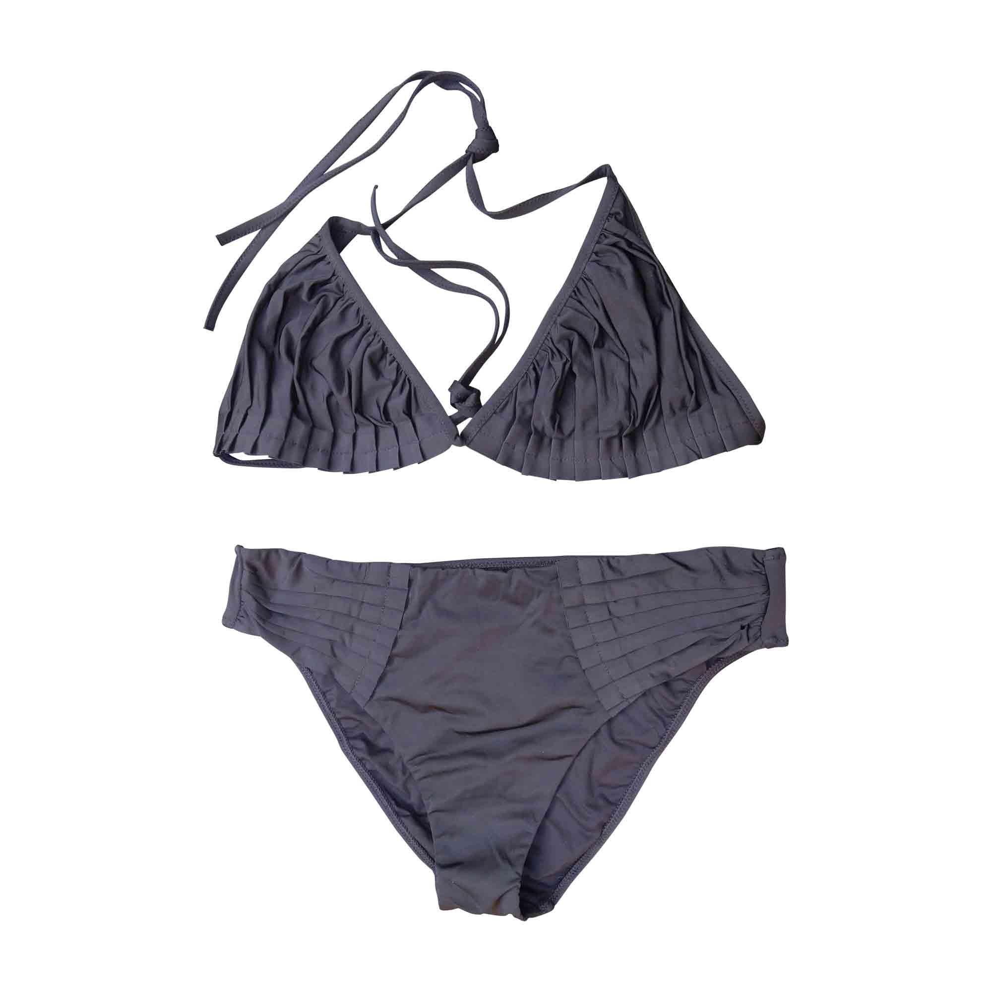 maillot de bain deux pi ces la perla 44 xl xxl t5 noir 6414517. Black Bedroom Furniture Sets. Home Design Ideas