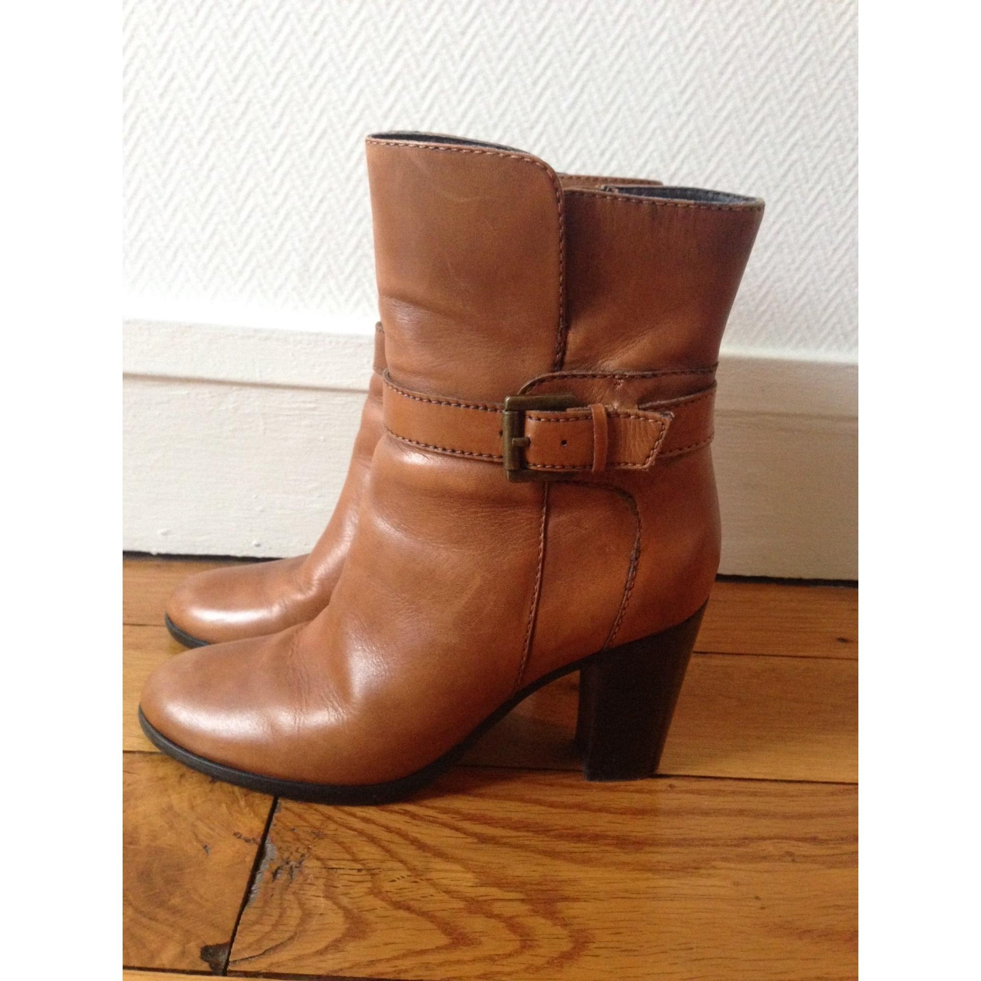 855b4ab72c5885 Bottines & low boots à talons SOMEWHERE 36 marron vendu par Linh ...