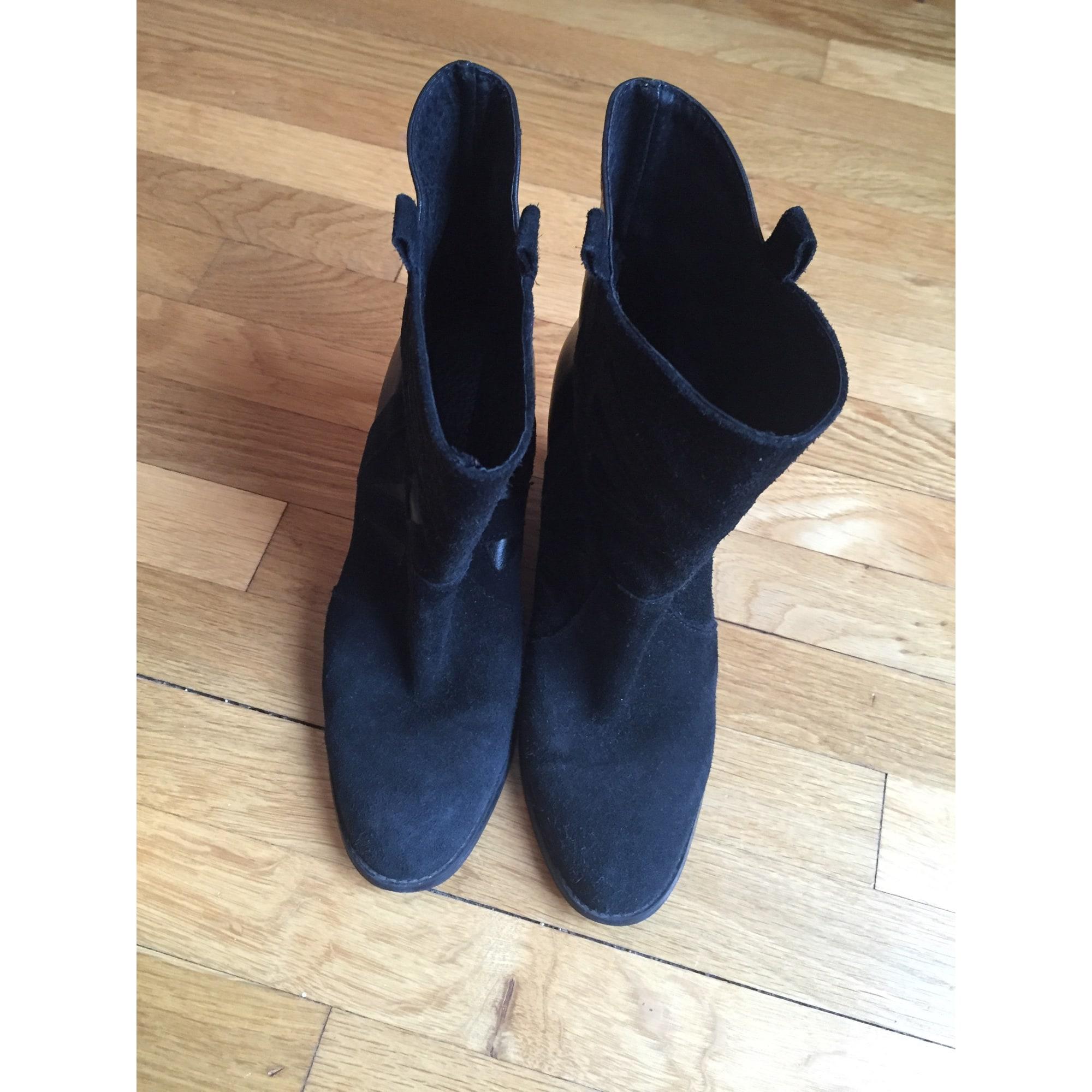 c9df2265992ec8 Bottines & low boots à talons A BY ANDRE 37 noir - 6425248