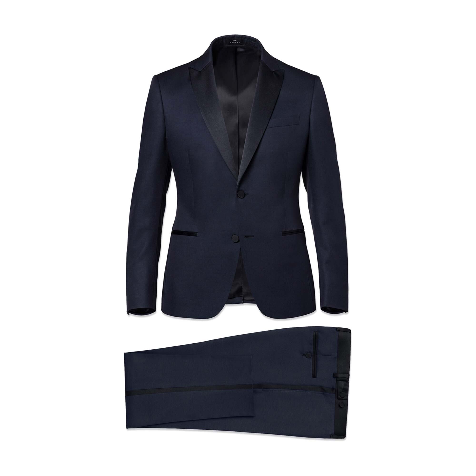 Costume complet DE FURSAC Bleu, bleu marine, bleu turquoise