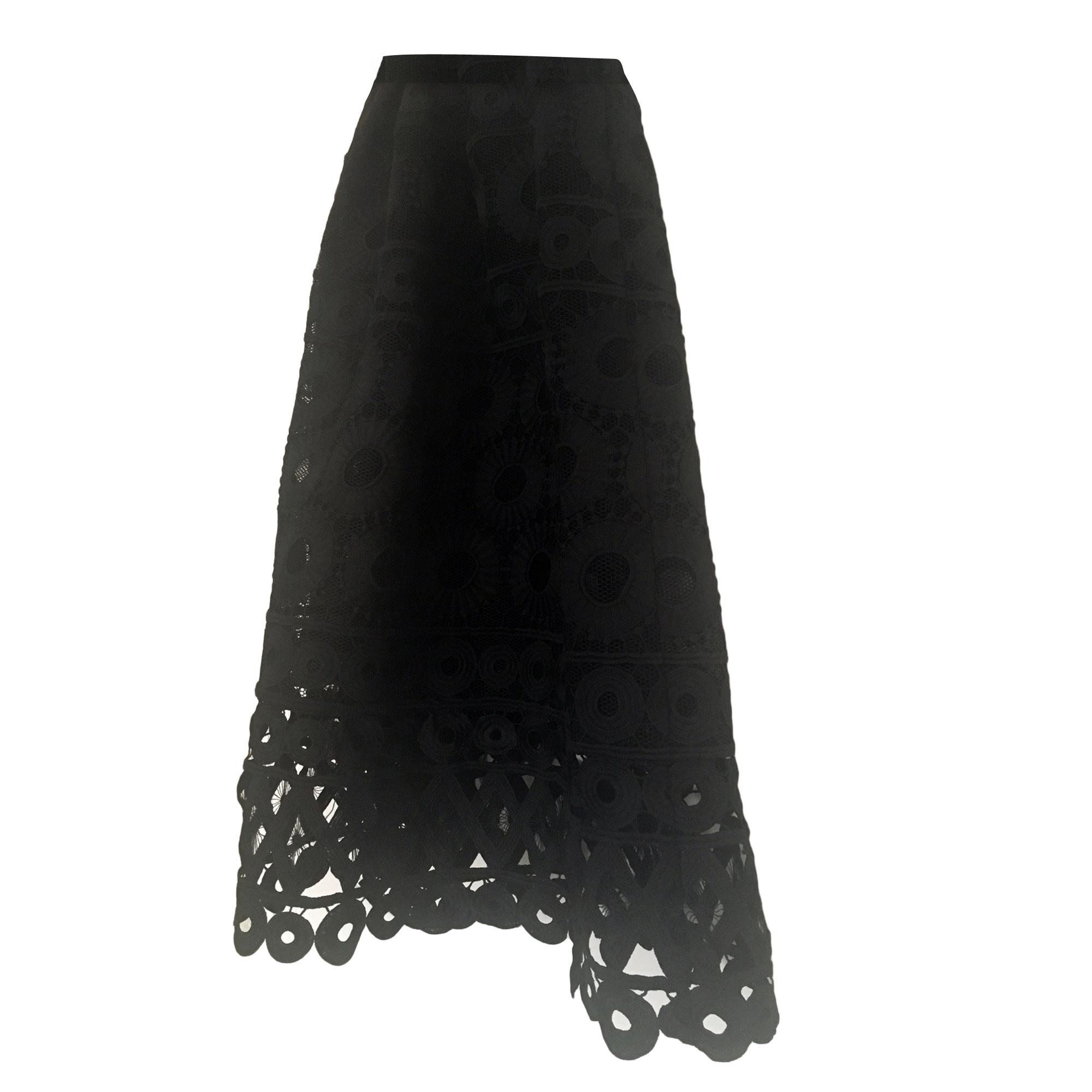 Jupe mi-longue MAJE 38 (M, T2) noir vendu par Nacera 65 - 6431710 92da9bc20953
