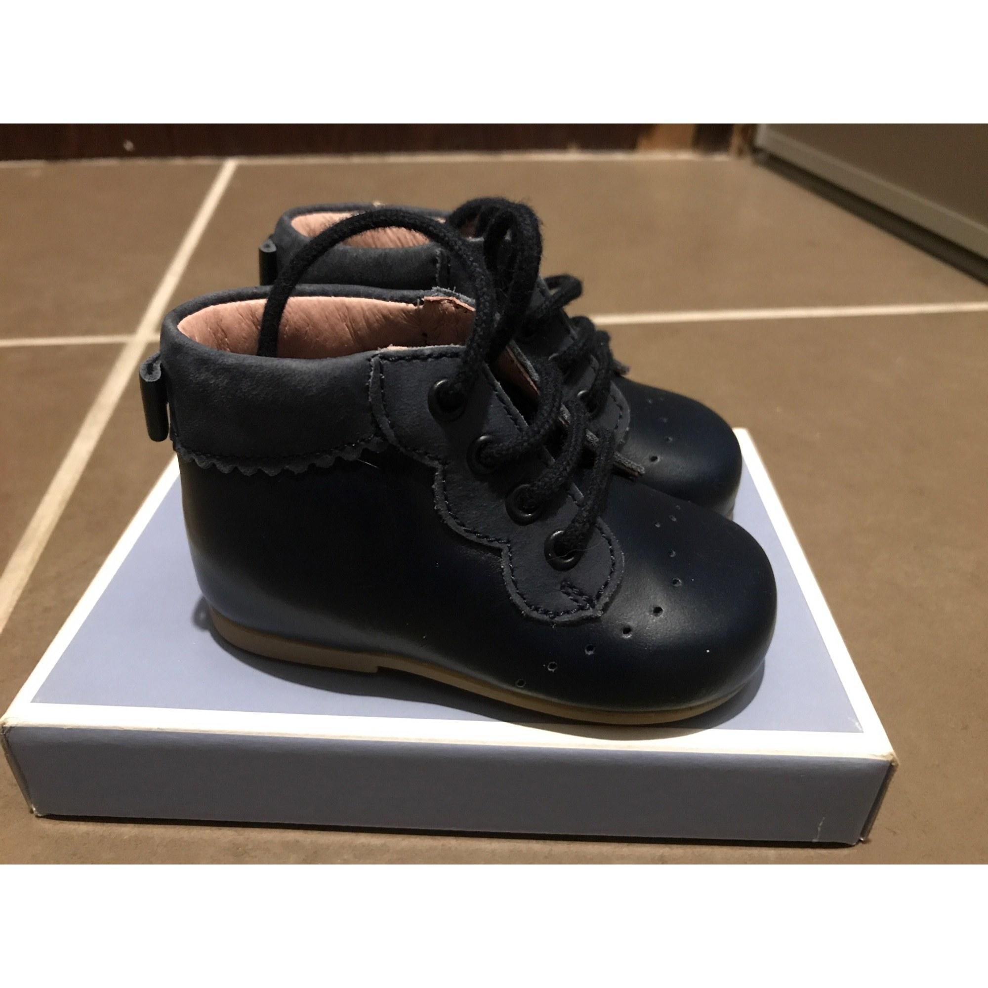31fa52d724075 Chaussures à lacets JACADI 9 mois bleu vendu par Sunsun154745 - 6434121