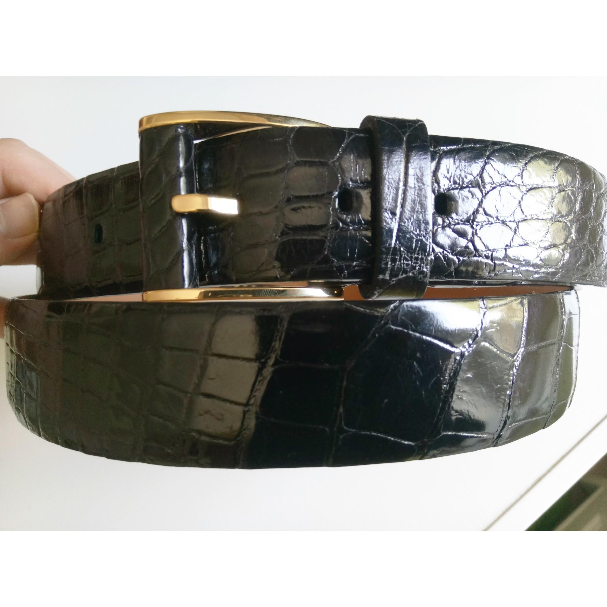 48e3c2d6c6e9 Ceinture ZILLI 115 noir vendu par Gaby007 - 6437473