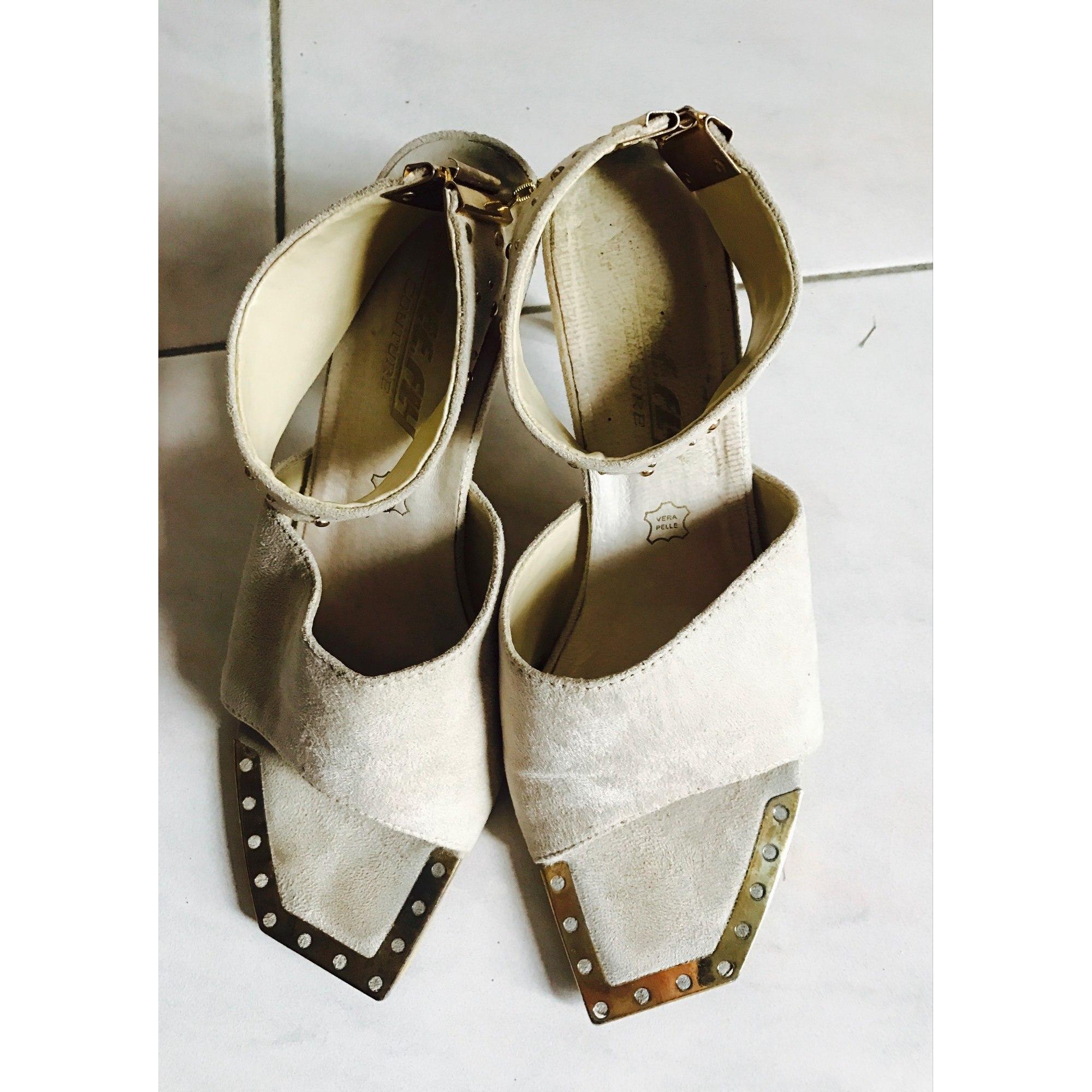 Sandales à talons BEE FLY Beige, camel